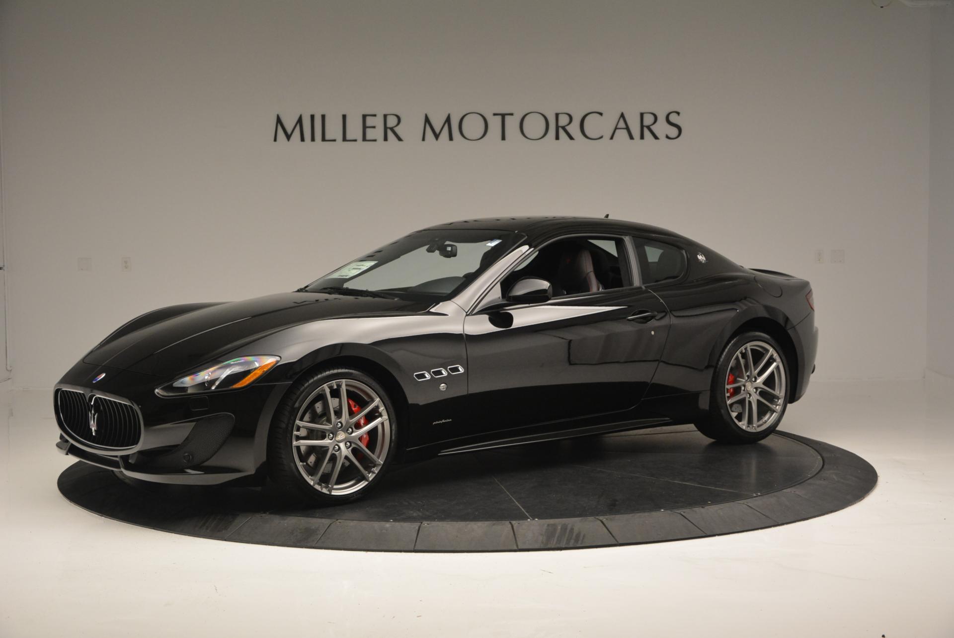 New 2016 Maserati GranTurismo Sport For Sale In Westport, CT 169_main