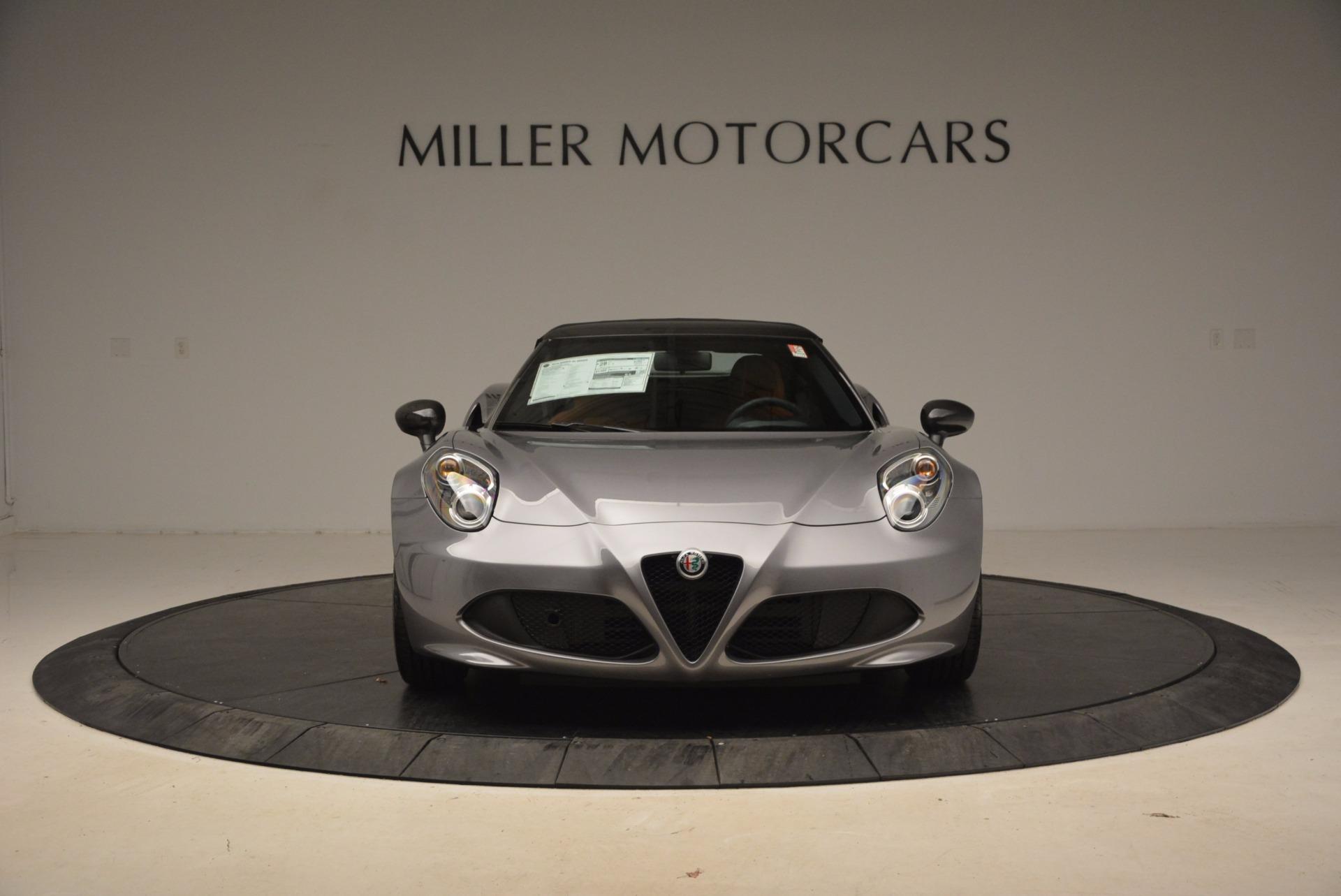 New 2018 Alfa Romeo 4C Spider For Sale In Westport, CT 1693_p22