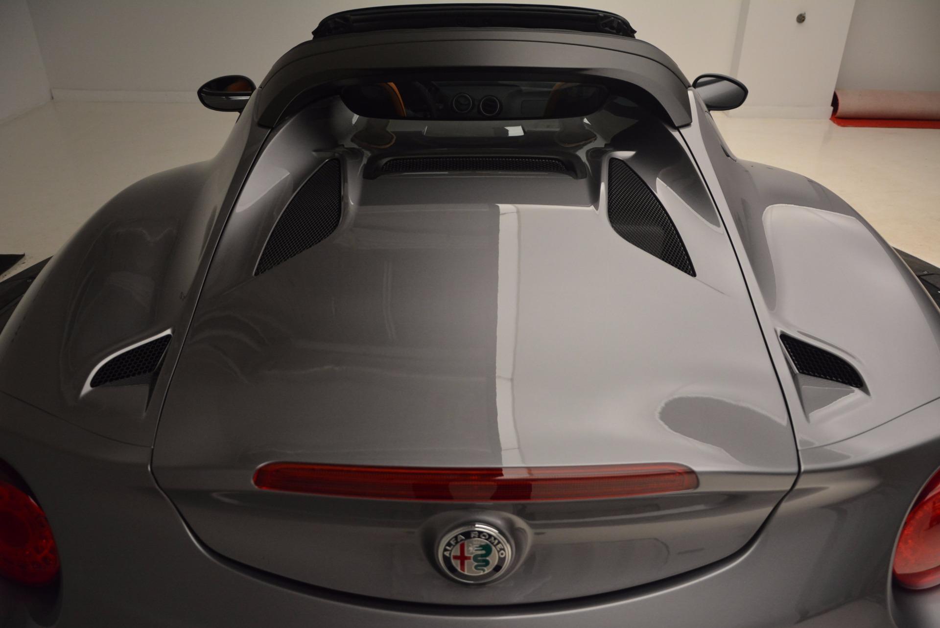 New 2018 Alfa Romeo 4C Spider For Sale In Westport, CT 1693_p32