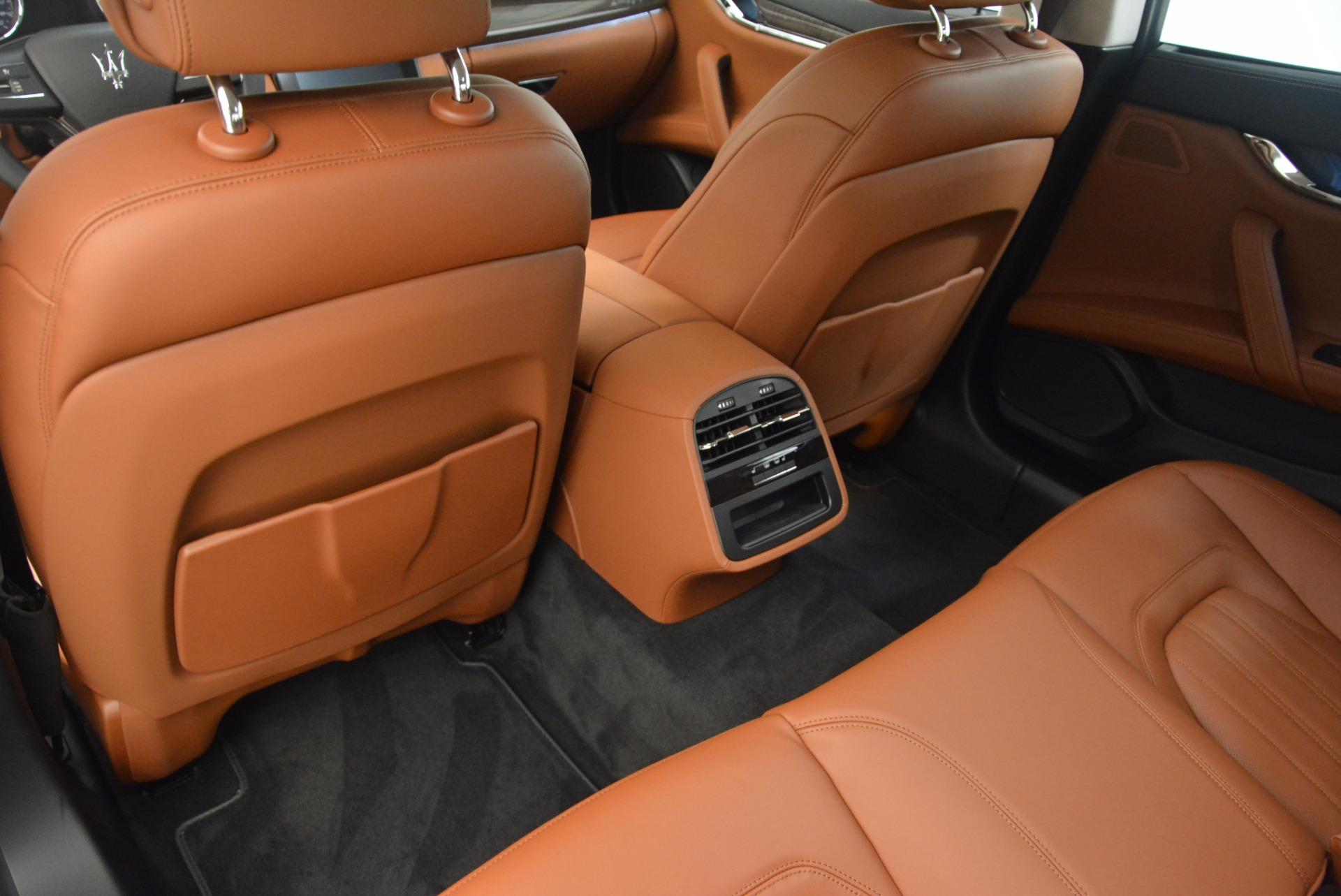 New 2018 Maserati Quattroporte S Q4 GranLusso For Sale In Westport, CT 1700_p19