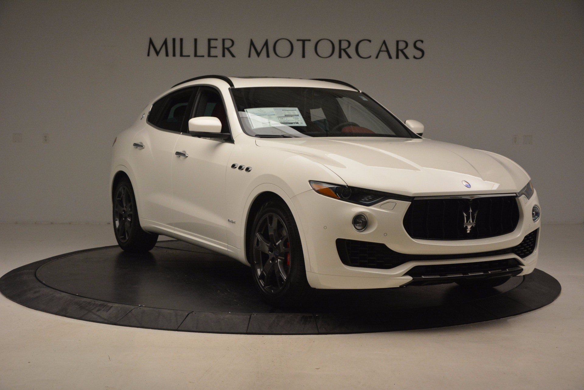 New 2018 Maserati Levante Q4 GranSport For Sale In Westport, CT 1701_p11