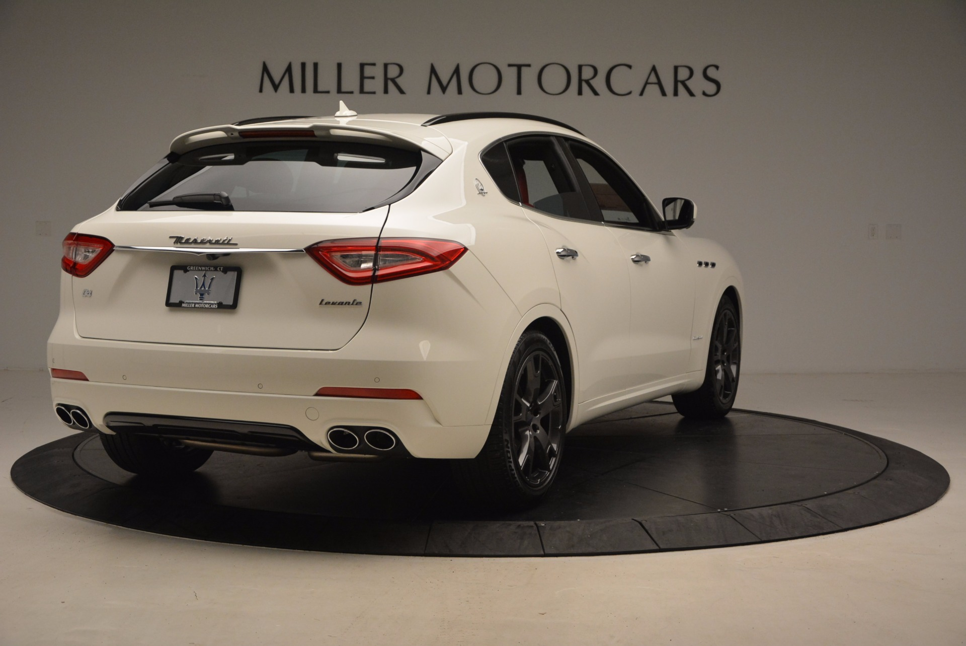 New 2018 Maserati Levante Q4 GranSport For Sale In Westport, CT 1701_p7