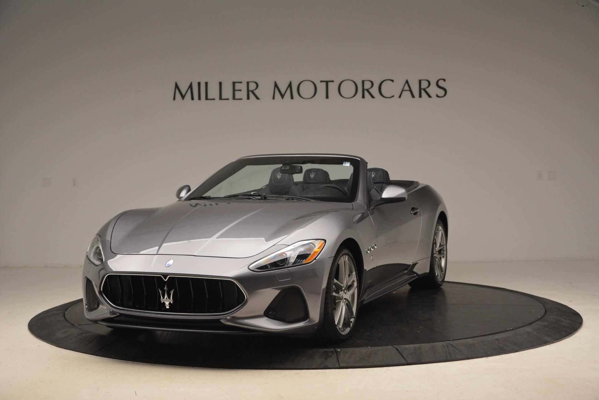 New 2018 Maserati GranTurismo Sport Convertible For Sale In Westport, CT 1703_main