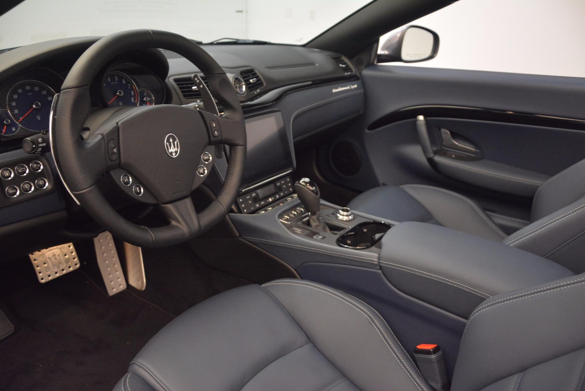 New 2018 Maserati GranTurismo Sport Convertible For Sale In Westport, CT 1703_p25