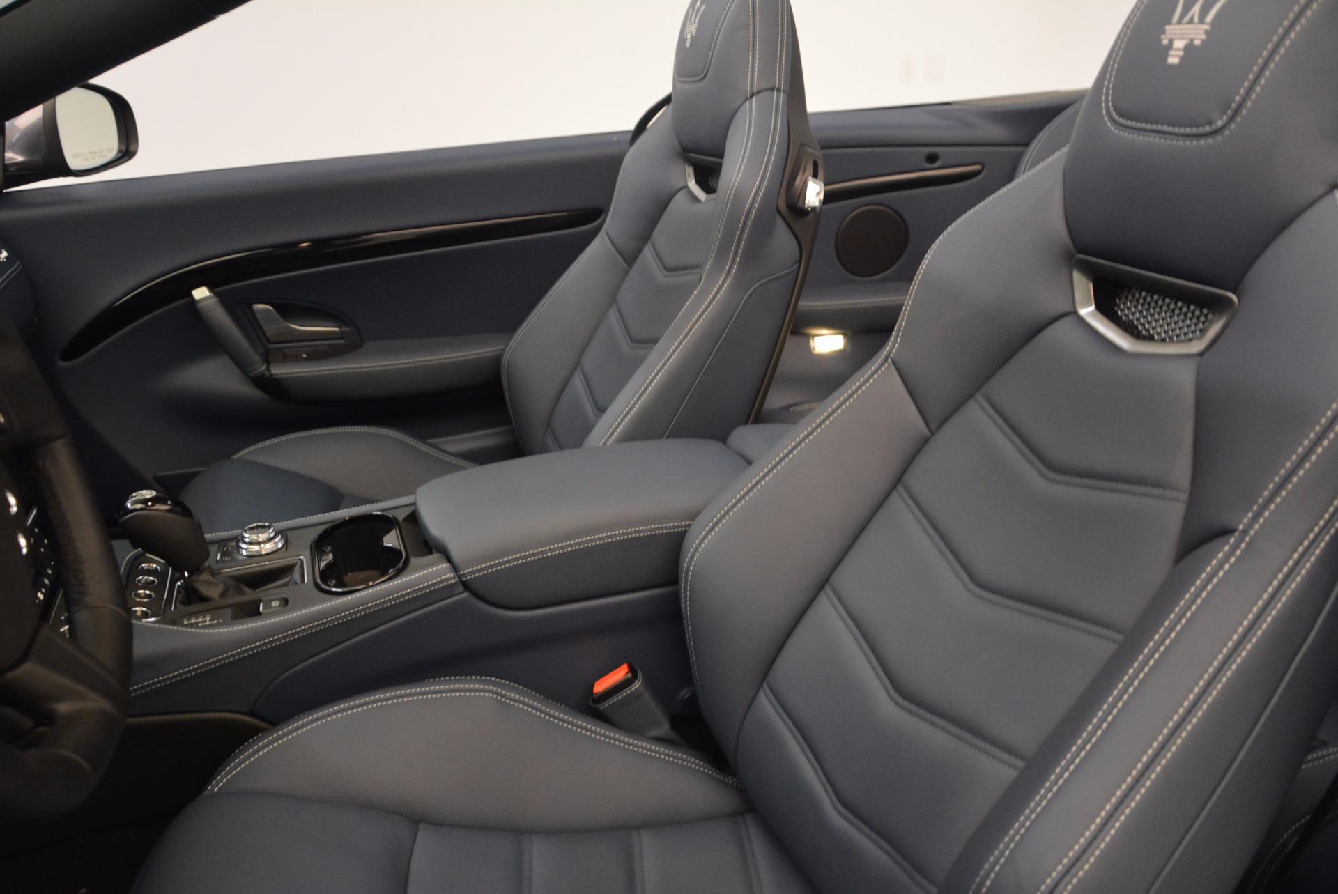 New 2018 Maserati GranTurismo Sport Convertible For Sale In Westport, CT 1703_p26
