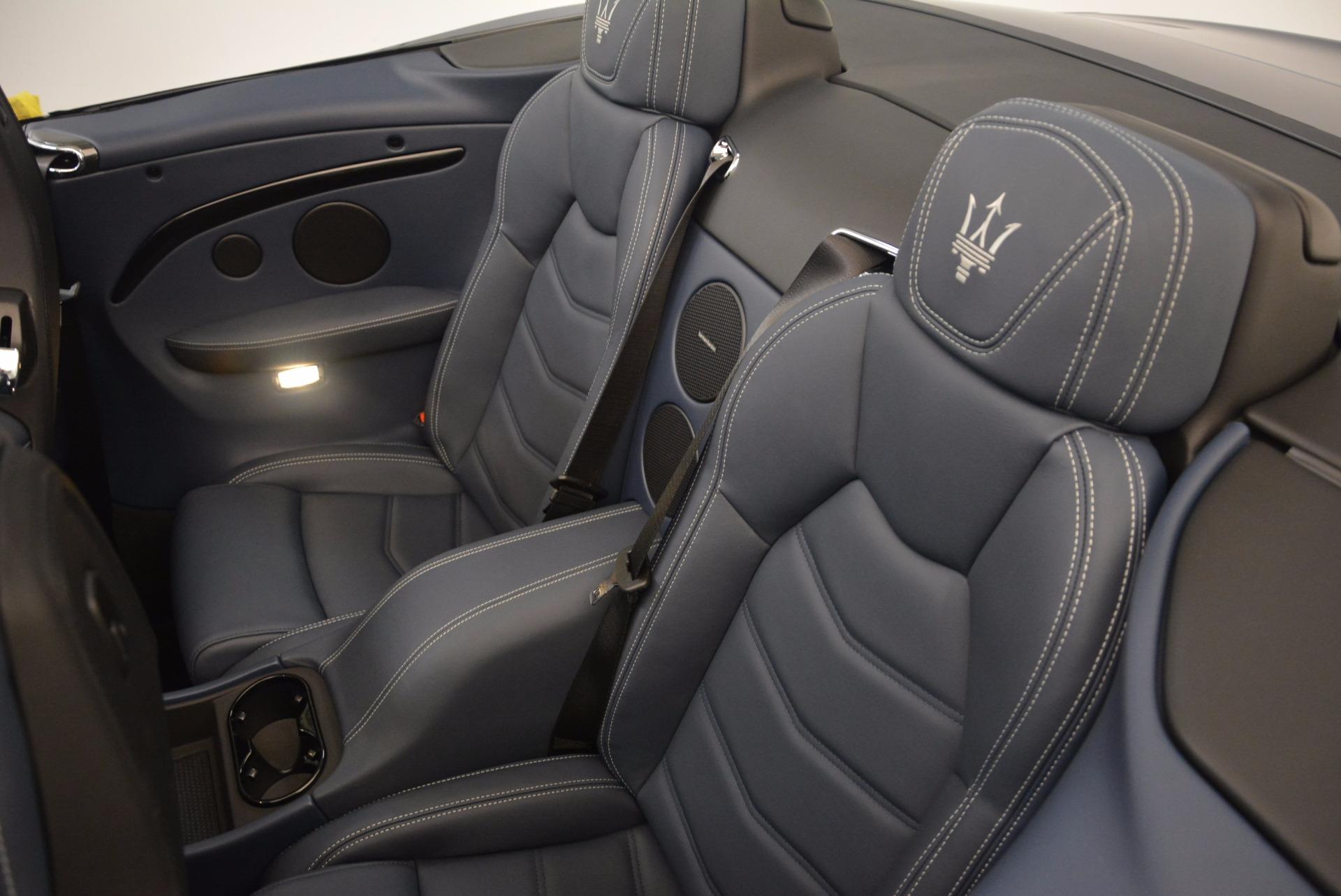New 2018 Maserati GranTurismo Sport Convertible For Sale In Westport, CT 1703_p31