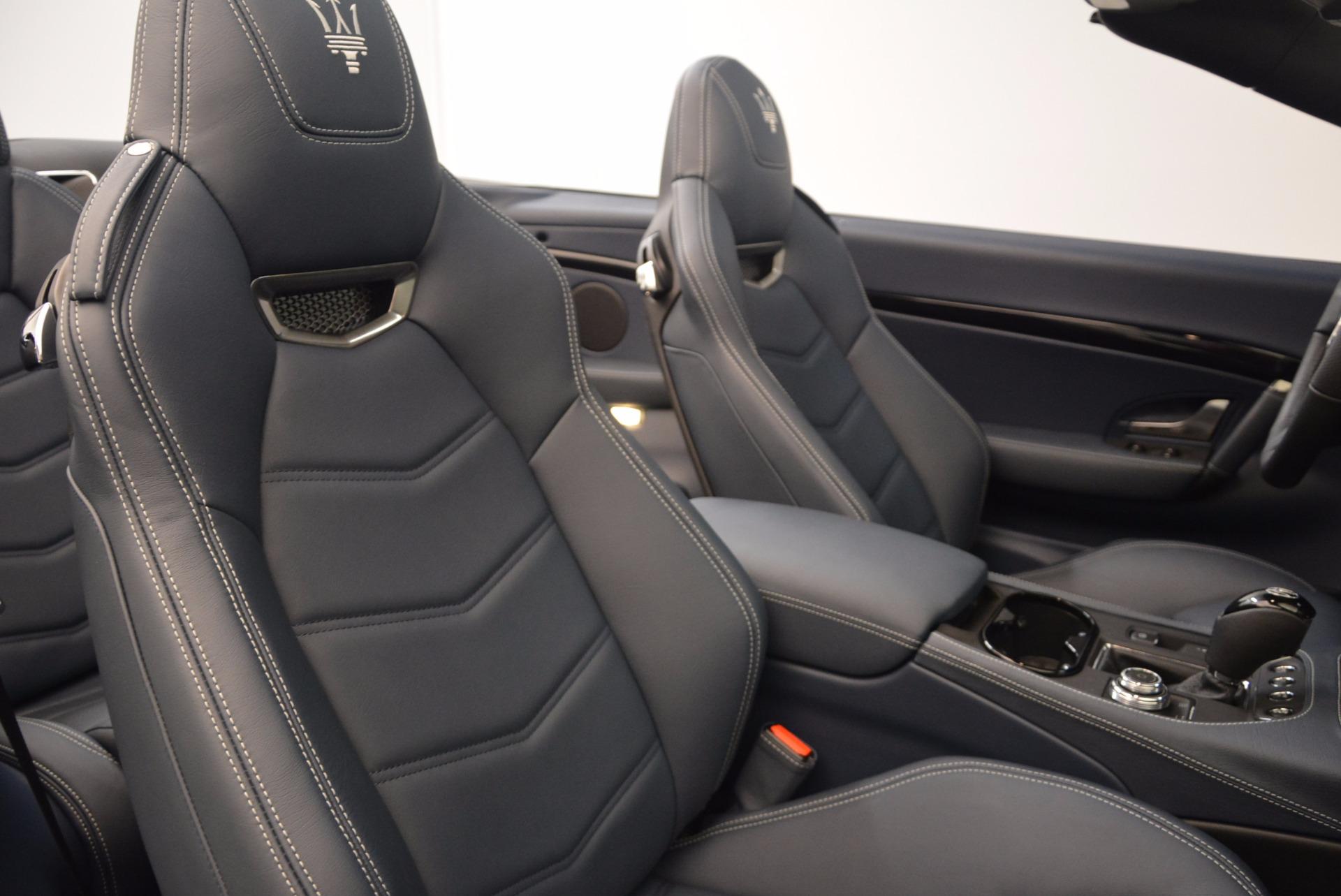 New 2018 Maserati GranTurismo Sport Convertible For Sale In Westport, CT 1703_p34