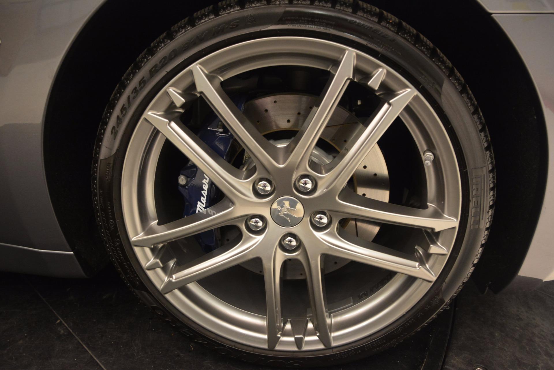 New 2018 Maserati GranTurismo Sport Convertible For Sale In Westport, CT 1703_p39