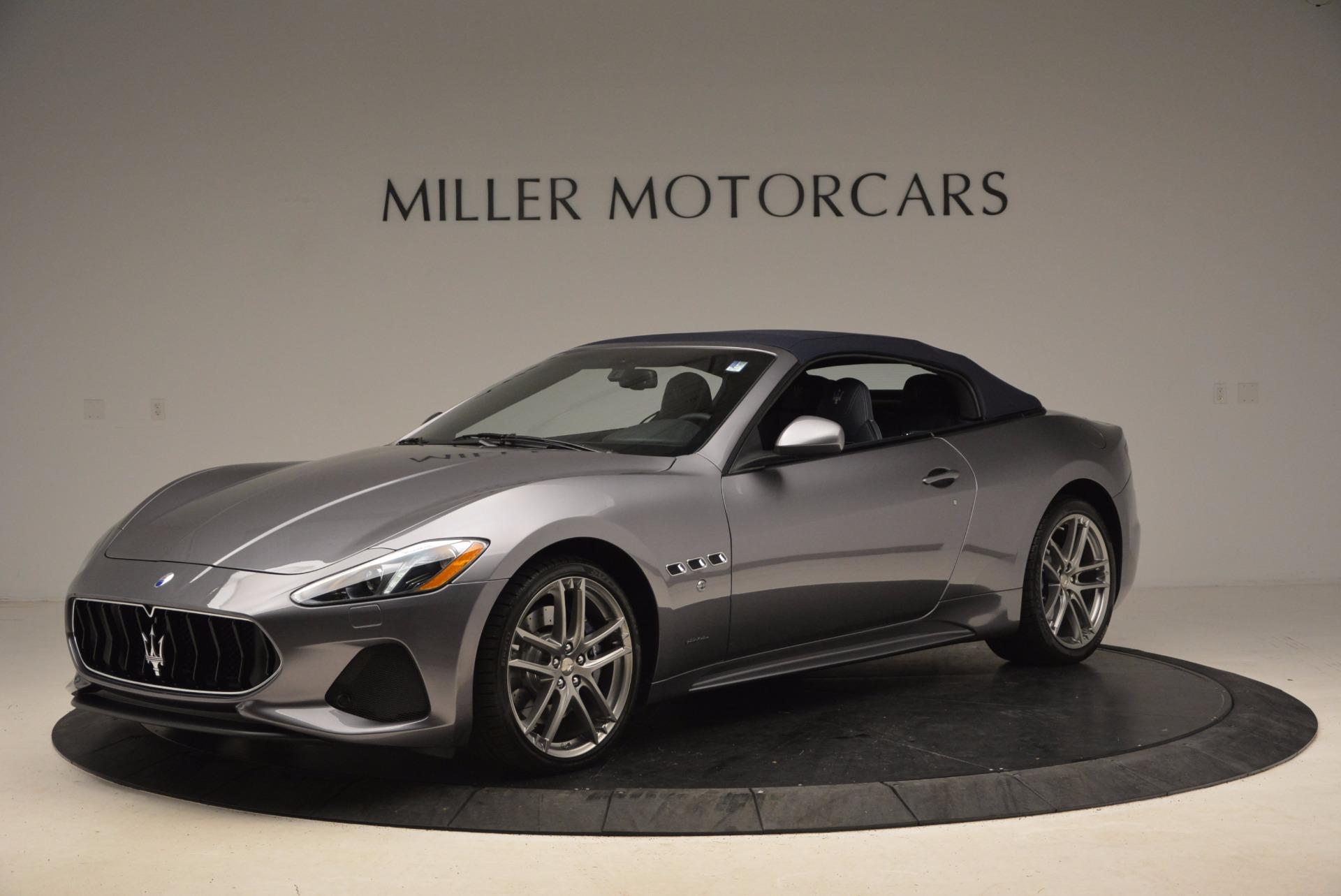 New 2018 Maserati GranTurismo Sport Convertible For Sale In Westport, CT 1703_p4