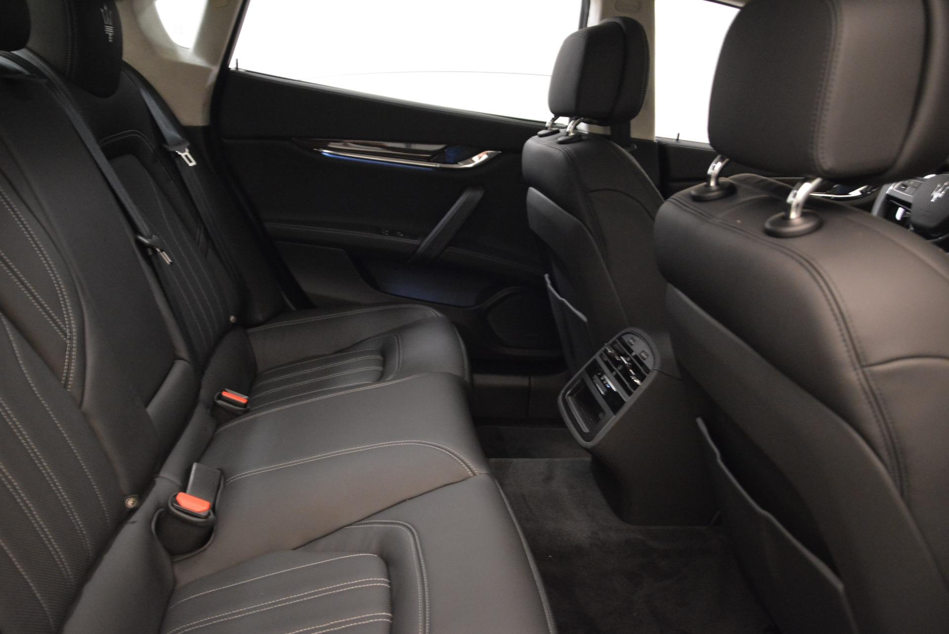 New 2018 Maserati Quattroporte S Q4 GranLusso For Sale In Westport, CT 1705_p25