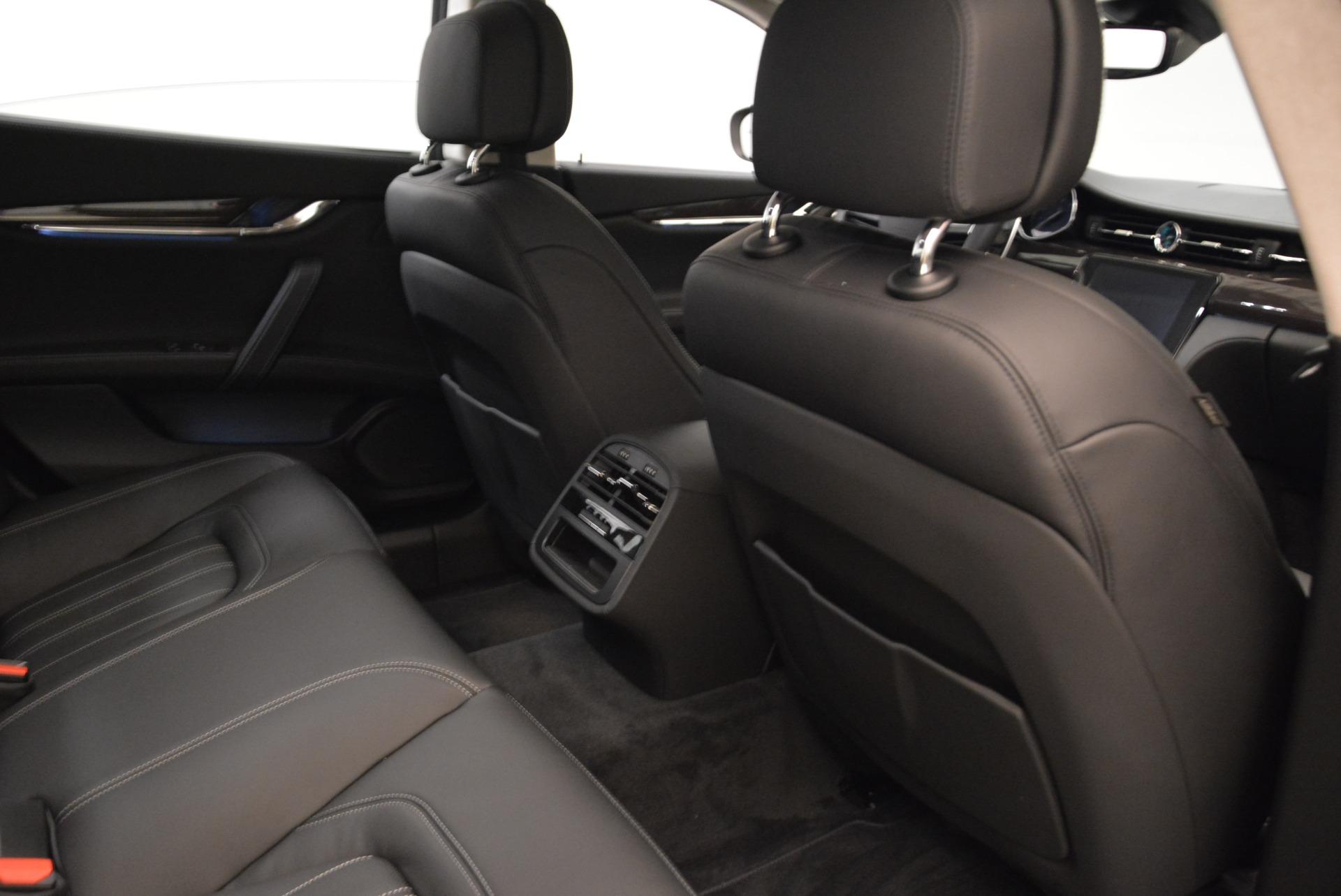 New 2018 Maserati Quattroporte S Q4 GranLusso For Sale In Westport, CT 1705_p26