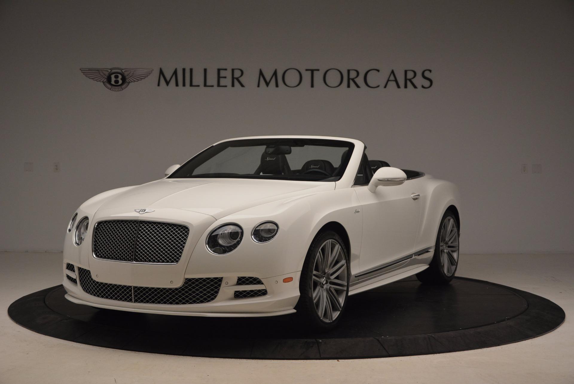 Used 2015 Bentley Continental GT Speed For Sale In Westport, CT 1714_main
