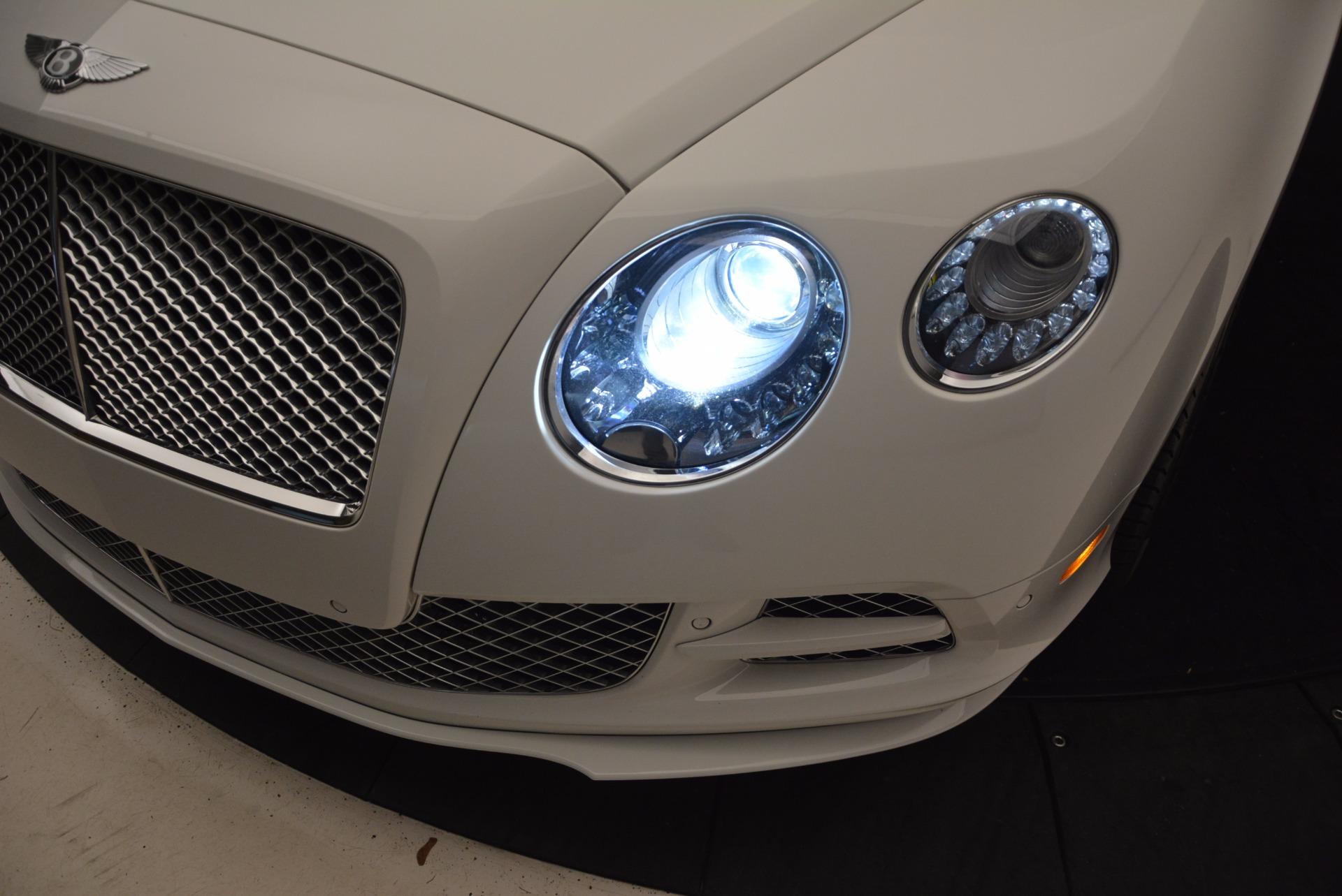 Used 2015 Bentley Continental GT Speed For Sale In Westport, CT 1714_p28