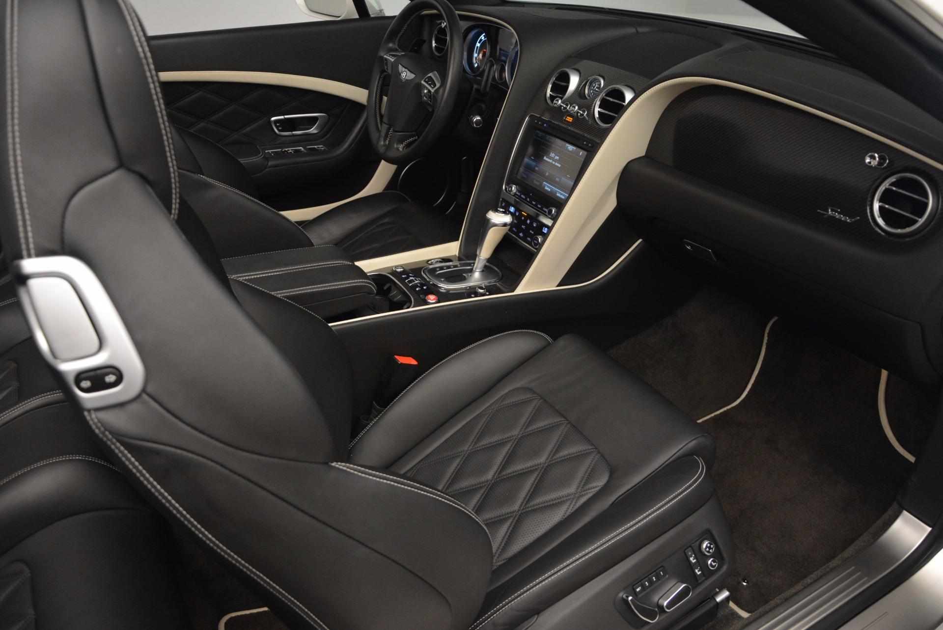 Used 2015 Bentley Continental GT Speed For Sale In Westport, CT 1714_p44