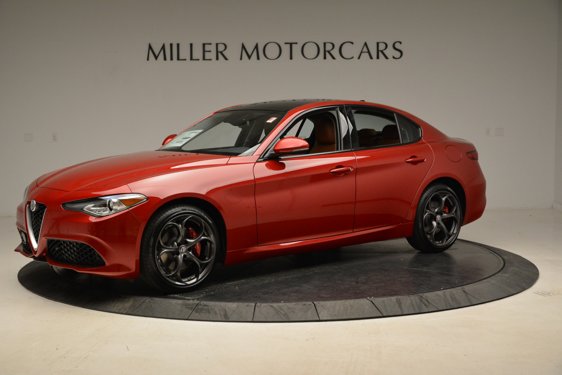 New 2018 Alfa Romeo Giulia Ti Sport Q4 For Sale In Westport, CT 1722_p2