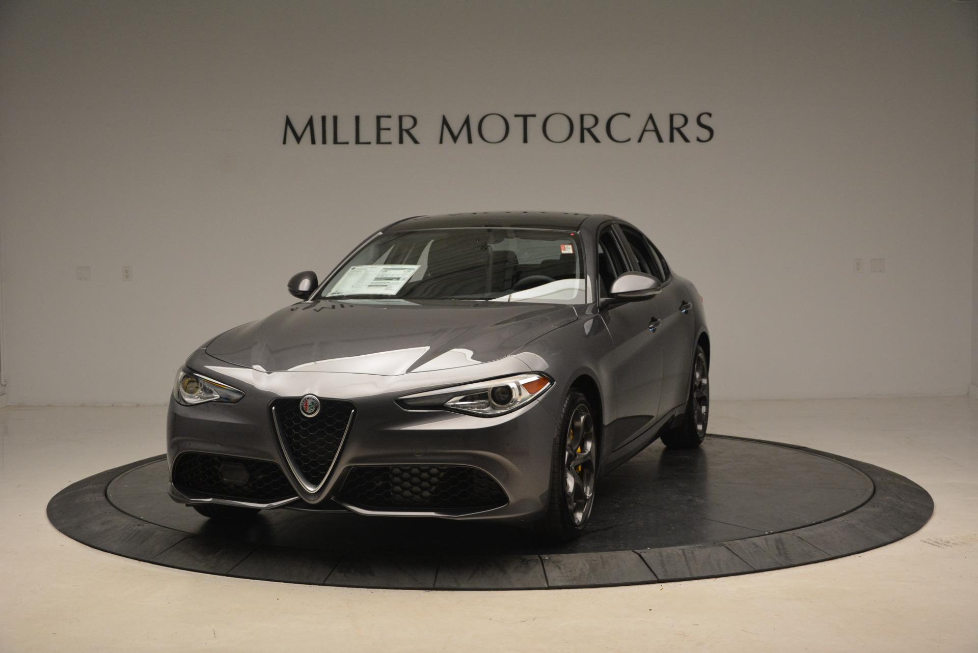 New 2018 Alfa Romeo Giulia Ti Sport Q4 For Sale In Westport, CT 1723_main