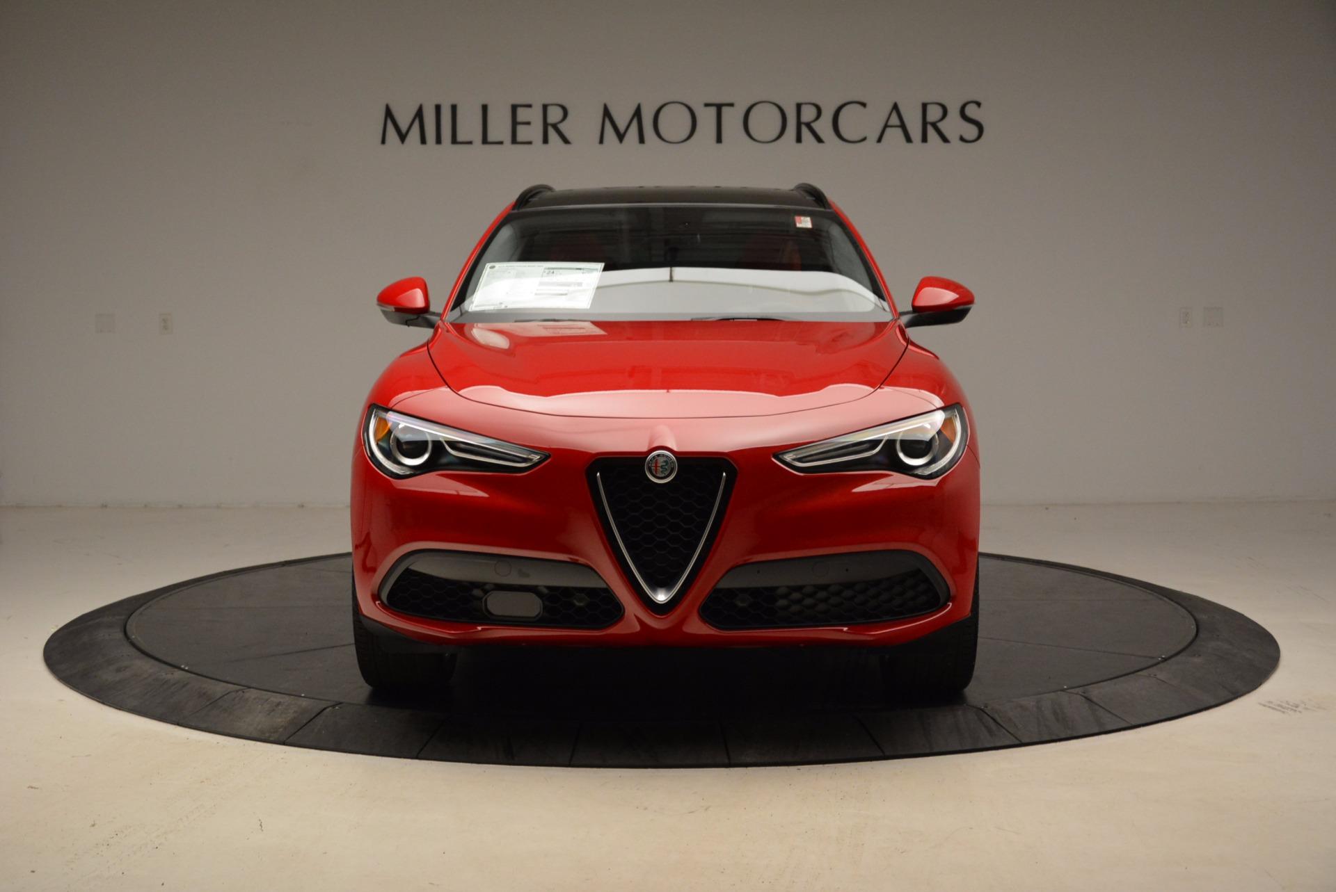 New 2018 Alfa Romeo Stelvio Sport Q4 For Sale In Westport, CT 1725_p12