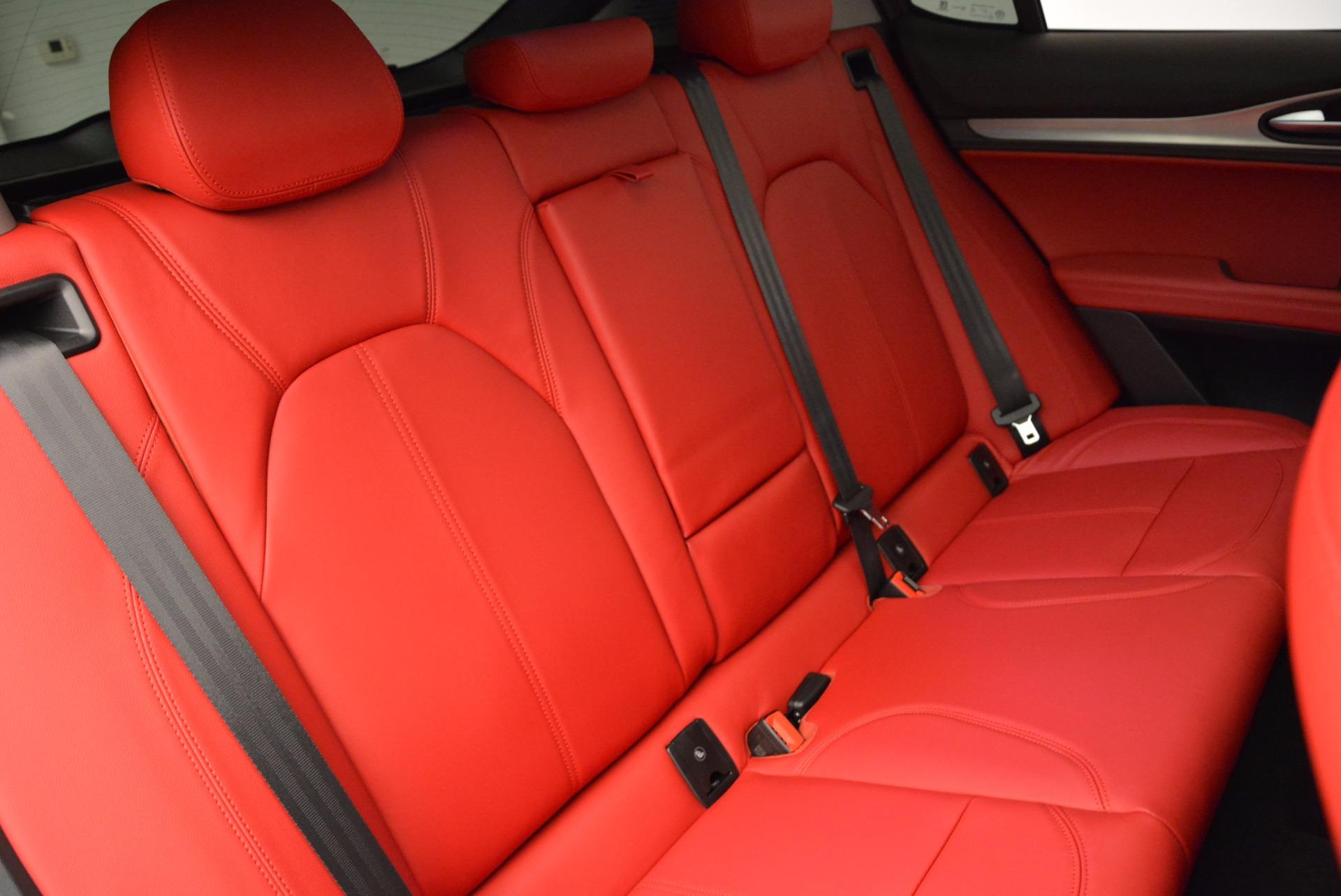 New 2018 Alfa Romeo Stelvio Sport Q4 For Sale In Westport, CT 1725_p24