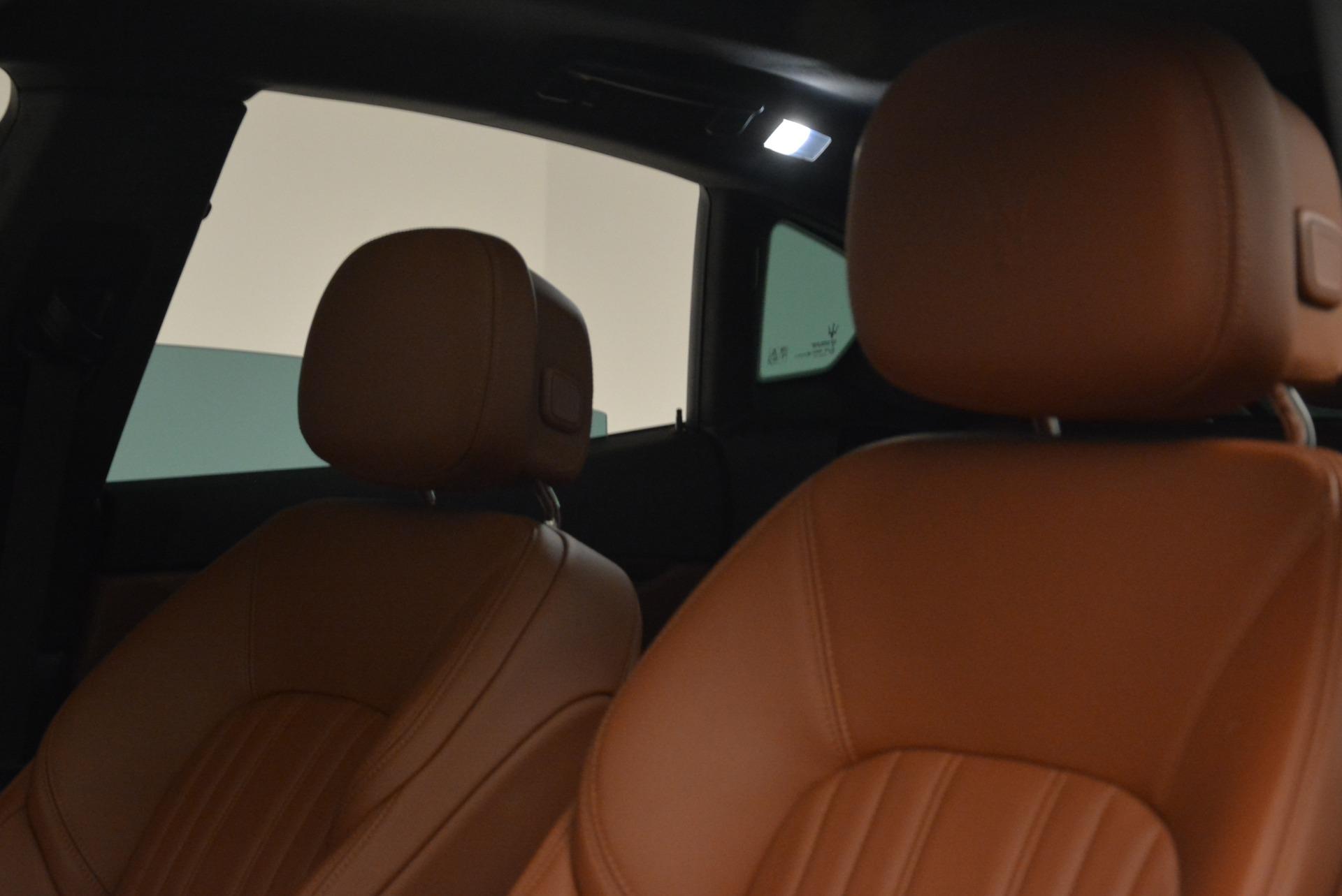New 2018 Maserati Levante Q4 GranLusso For Sale In Westport, CT 1730_p12