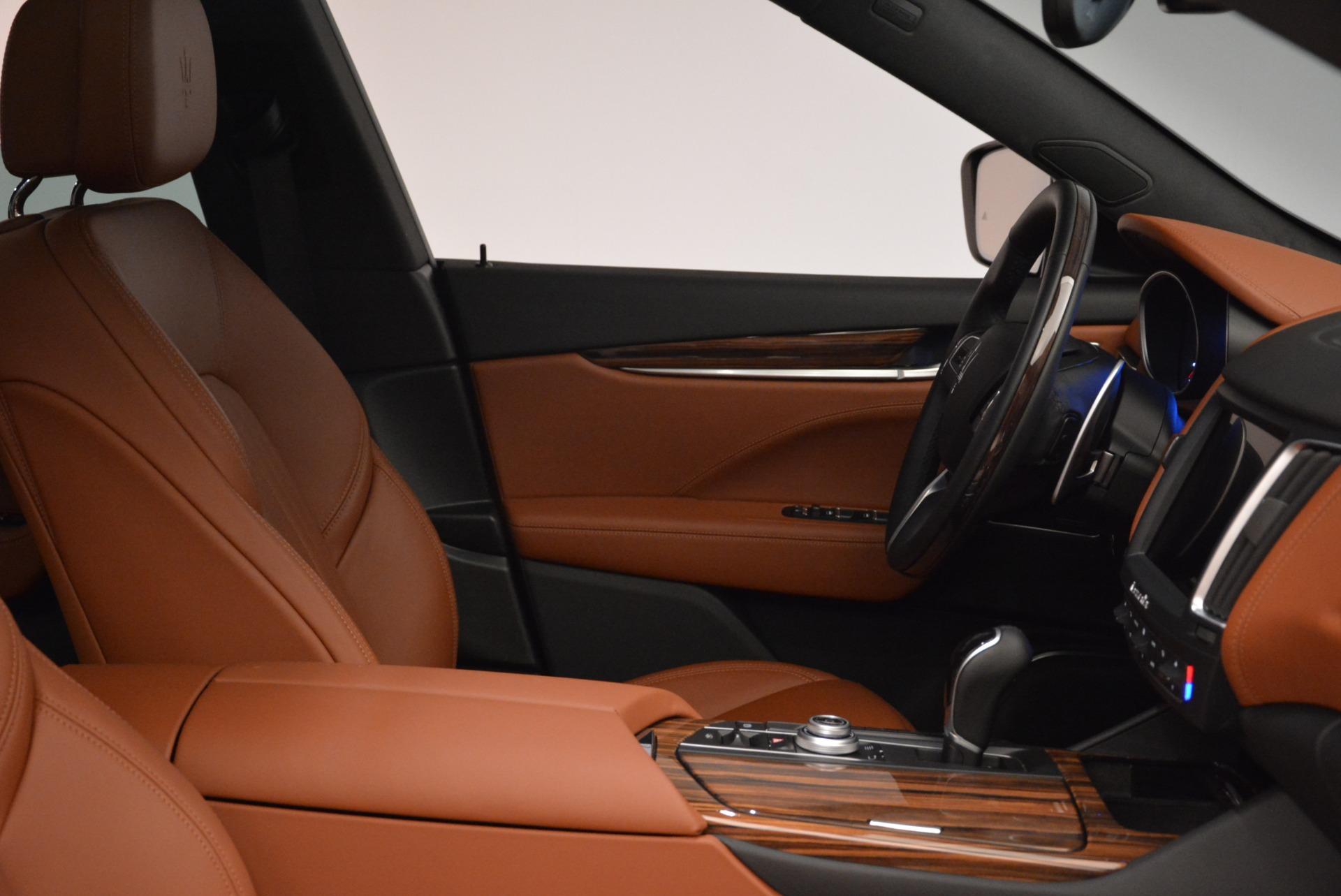 New 2018 Maserati Levante Q4 GranLusso For Sale In Westport, CT 1730_p18