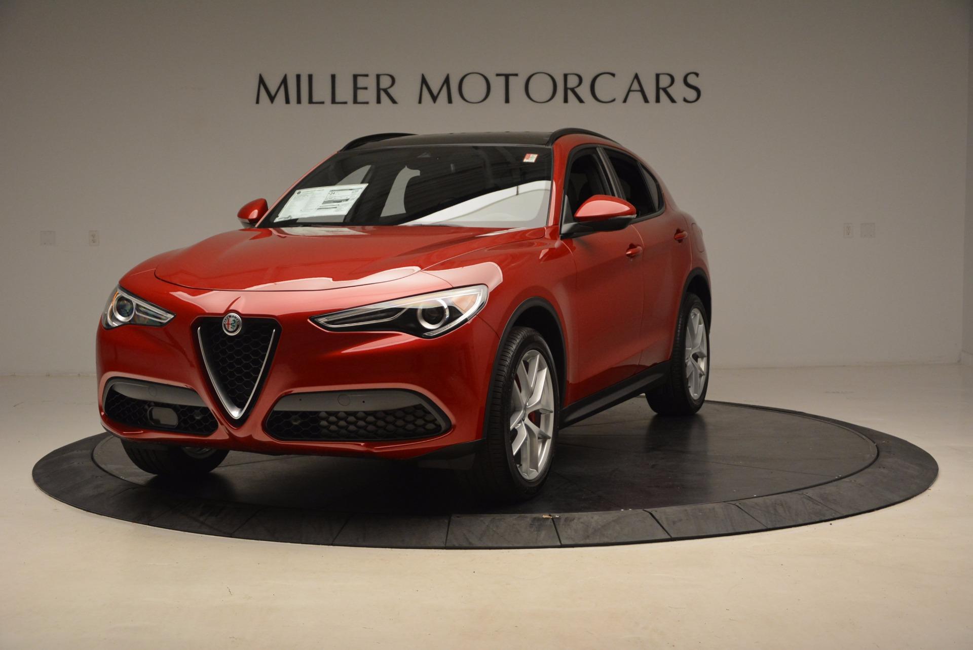 New 2018 Alfa Romeo Stelvio Ti Sport Q4 For Sale In Westport, CT 1732_main