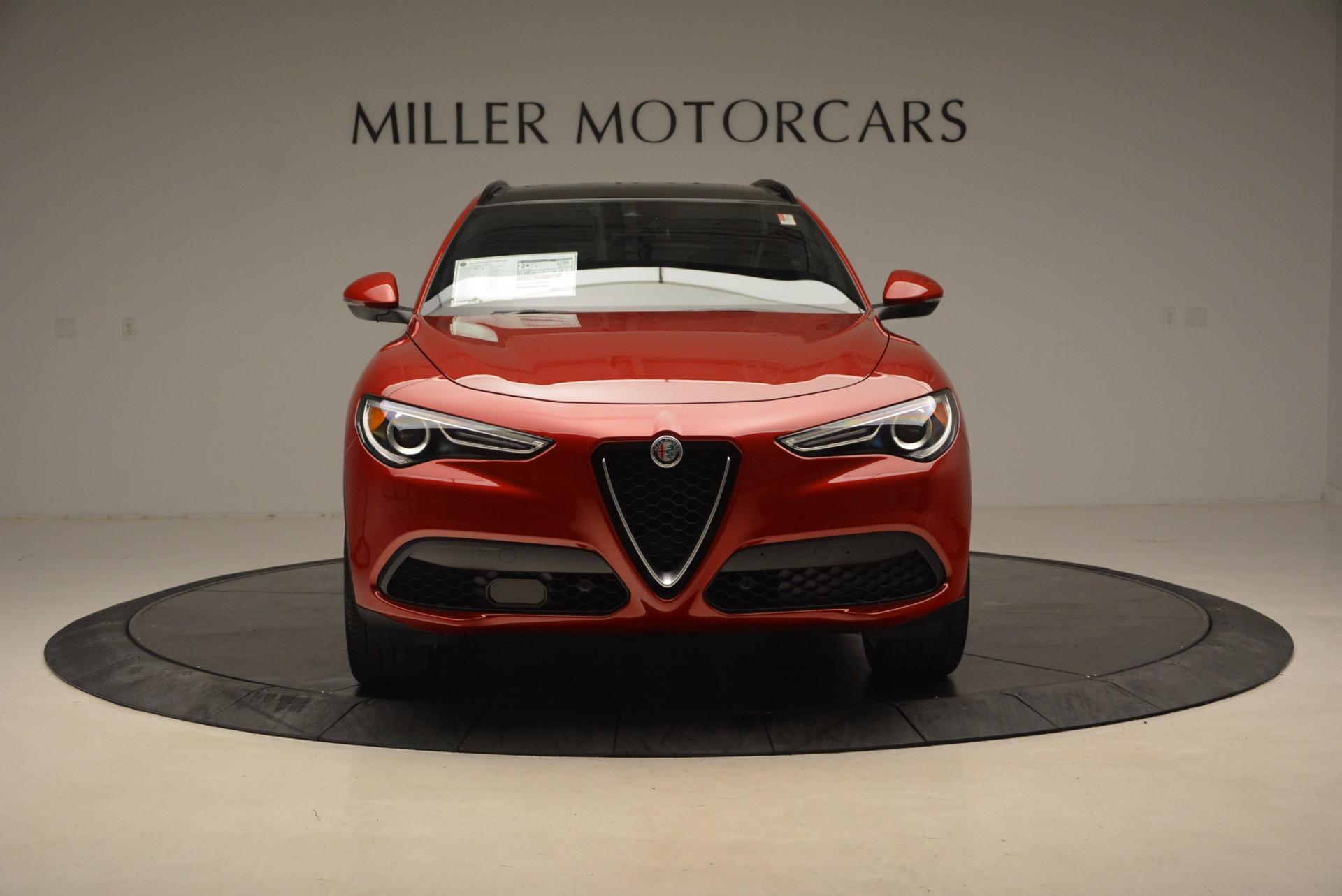 New 2018 Alfa Romeo Stelvio Ti Sport Q4 For Sale In Westport, CT 1732_p12