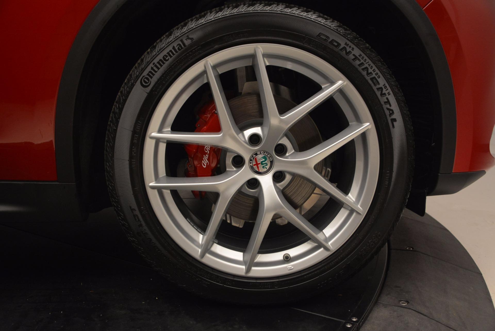 New 2018 Alfa Romeo Stelvio Ti Sport Q4 For Sale In Westport, CT 1732_p25