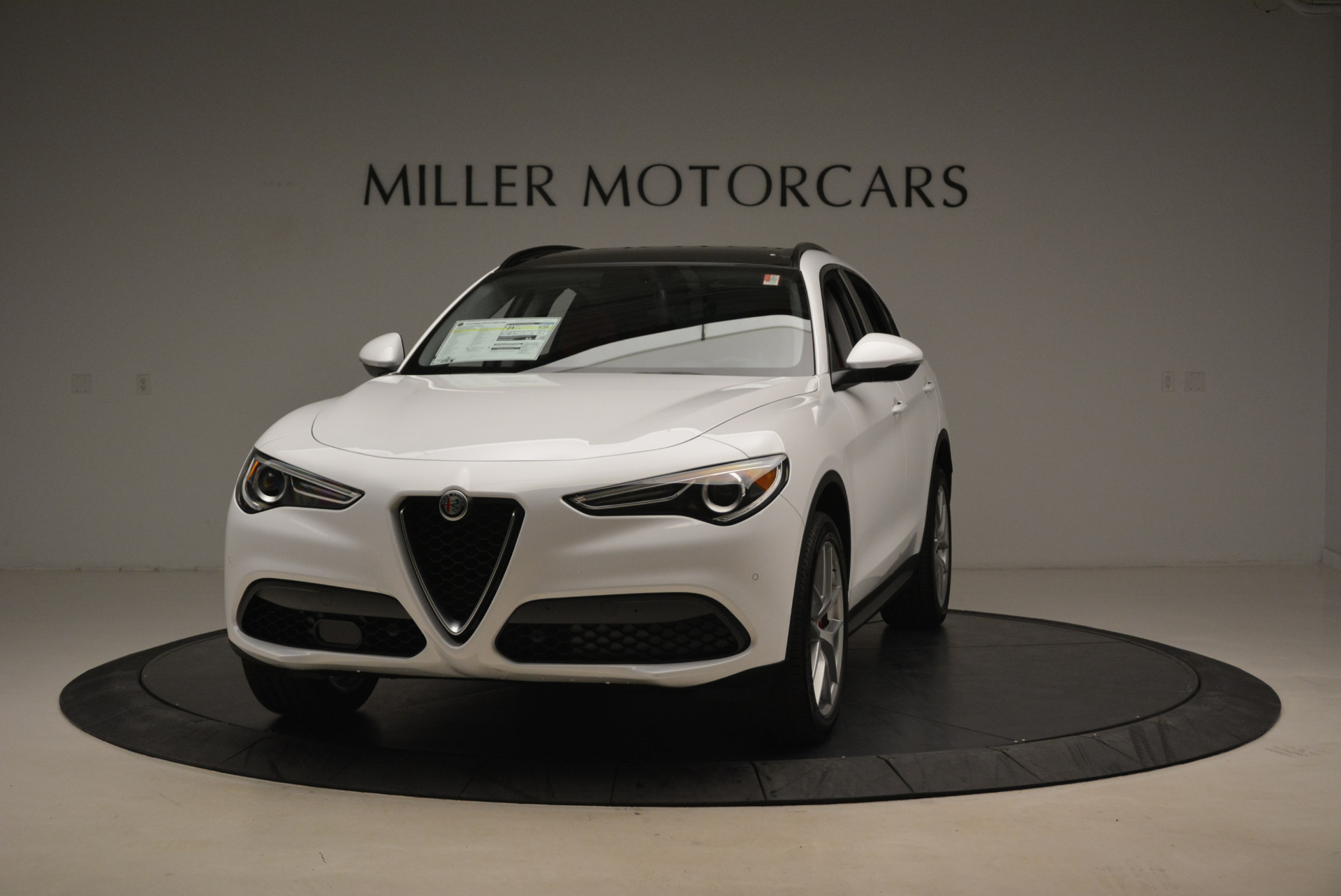 New 2018 Alfa Romeo Stelvio Sport Q4 For Sale In Westport, CT 1738_main