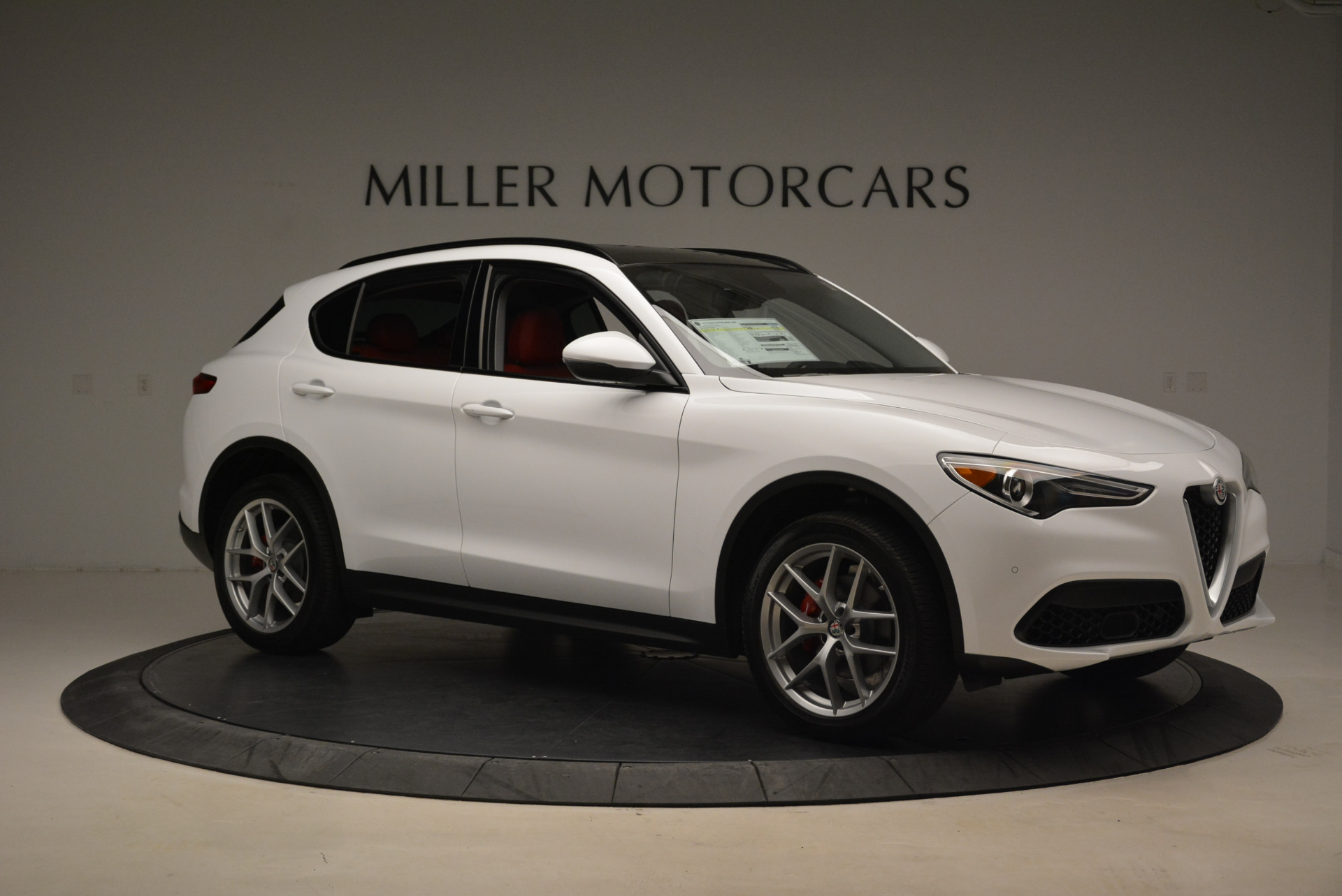 New 2018 Alfa Romeo Stelvio Sport Q4 For Sale In Westport, CT 1738_p10