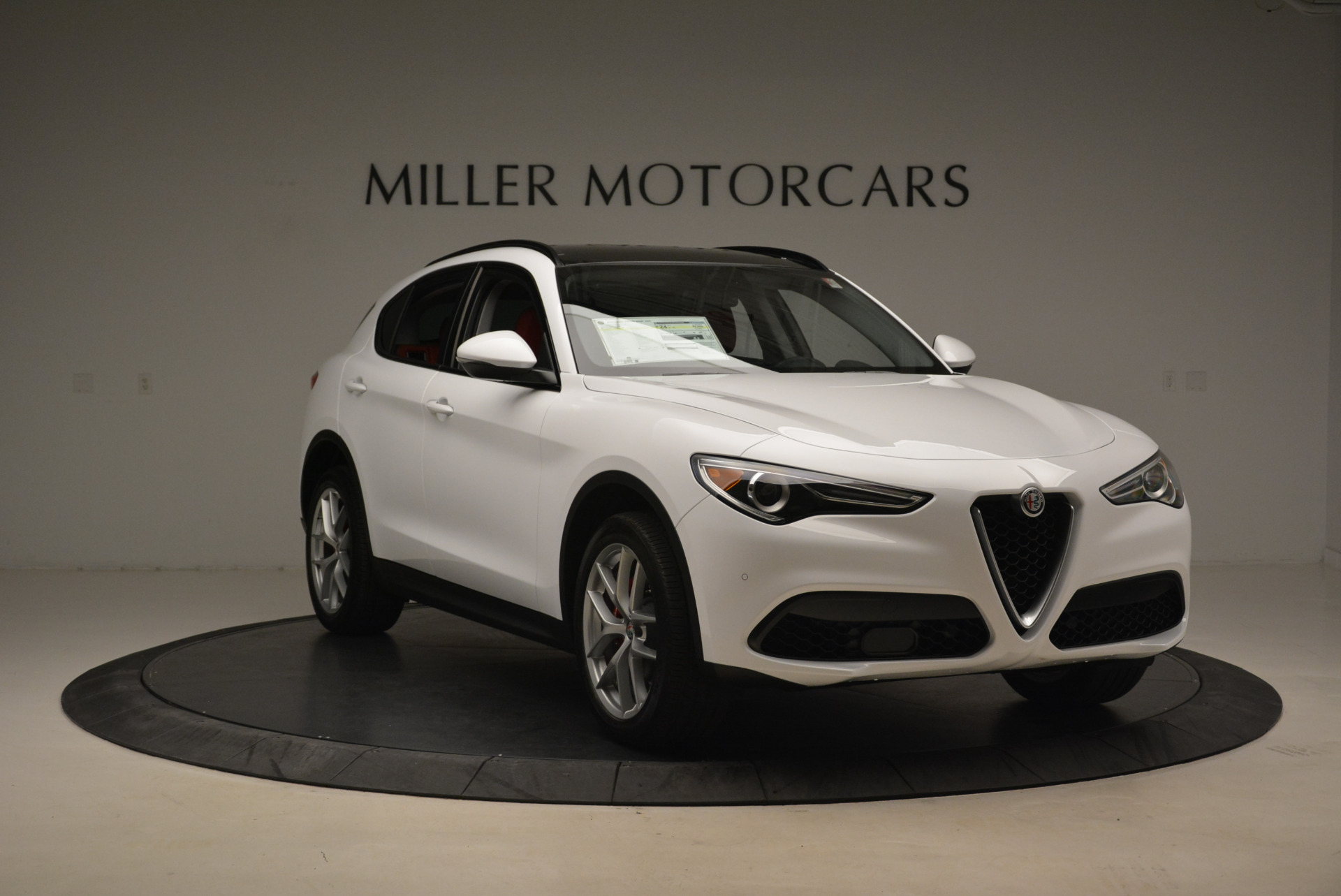 New 2018 Alfa Romeo Stelvio Sport Q4 For Sale In Westport, CT 1738_p11