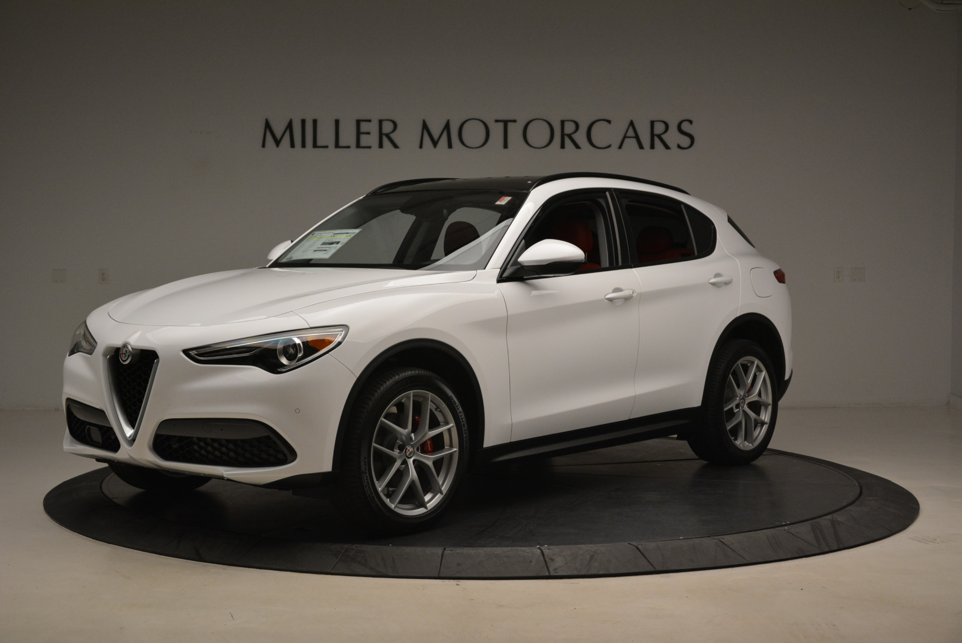 New 2018 Alfa Romeo Stelvio Sport Q4 For Sale In Westport, CT 1738_p2