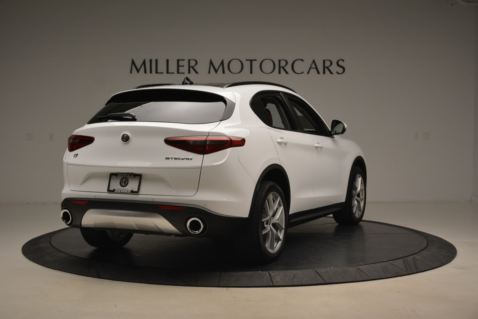 New 2018 Alfa Romeo Stelvio Sport Q4 For Sale In Westport, CT 1738_p7