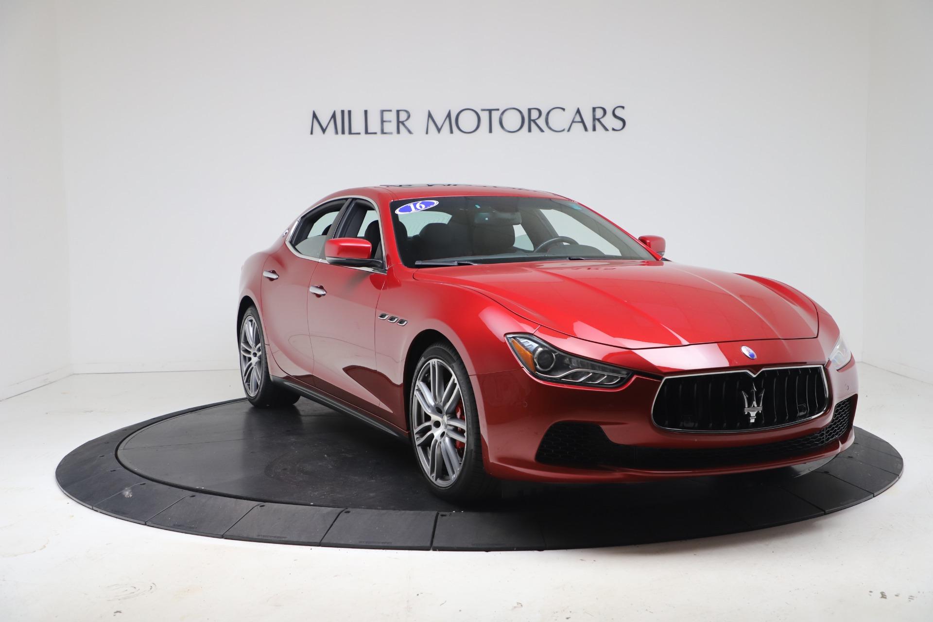 New 2016 Maserati Ghibli S Q4 For Sale In Westport, CT 174_p11