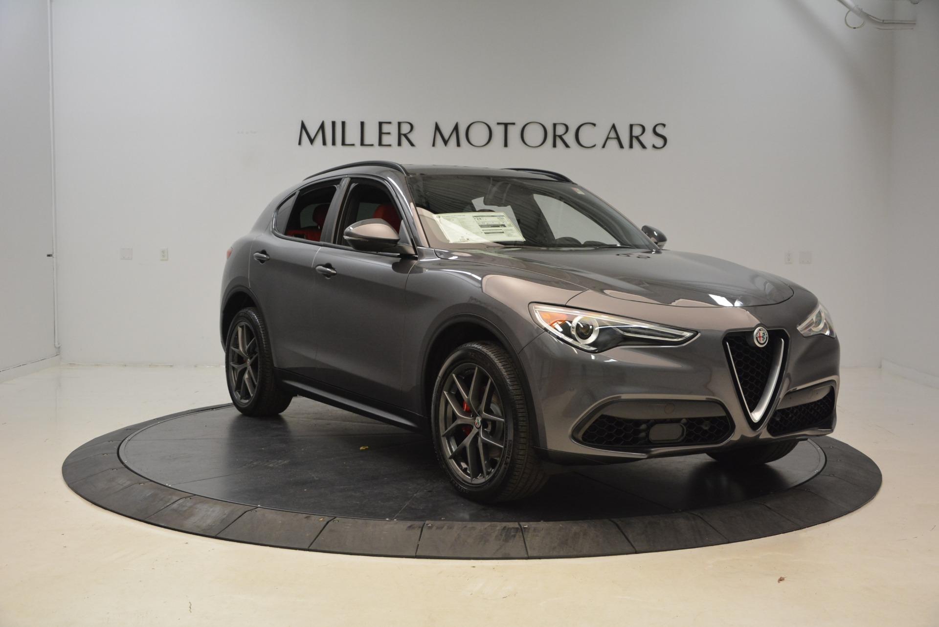 New 2018 Alfa Romeo Stelvio Ti Sport Q4 For Sale In Westport, CT 1740_p11