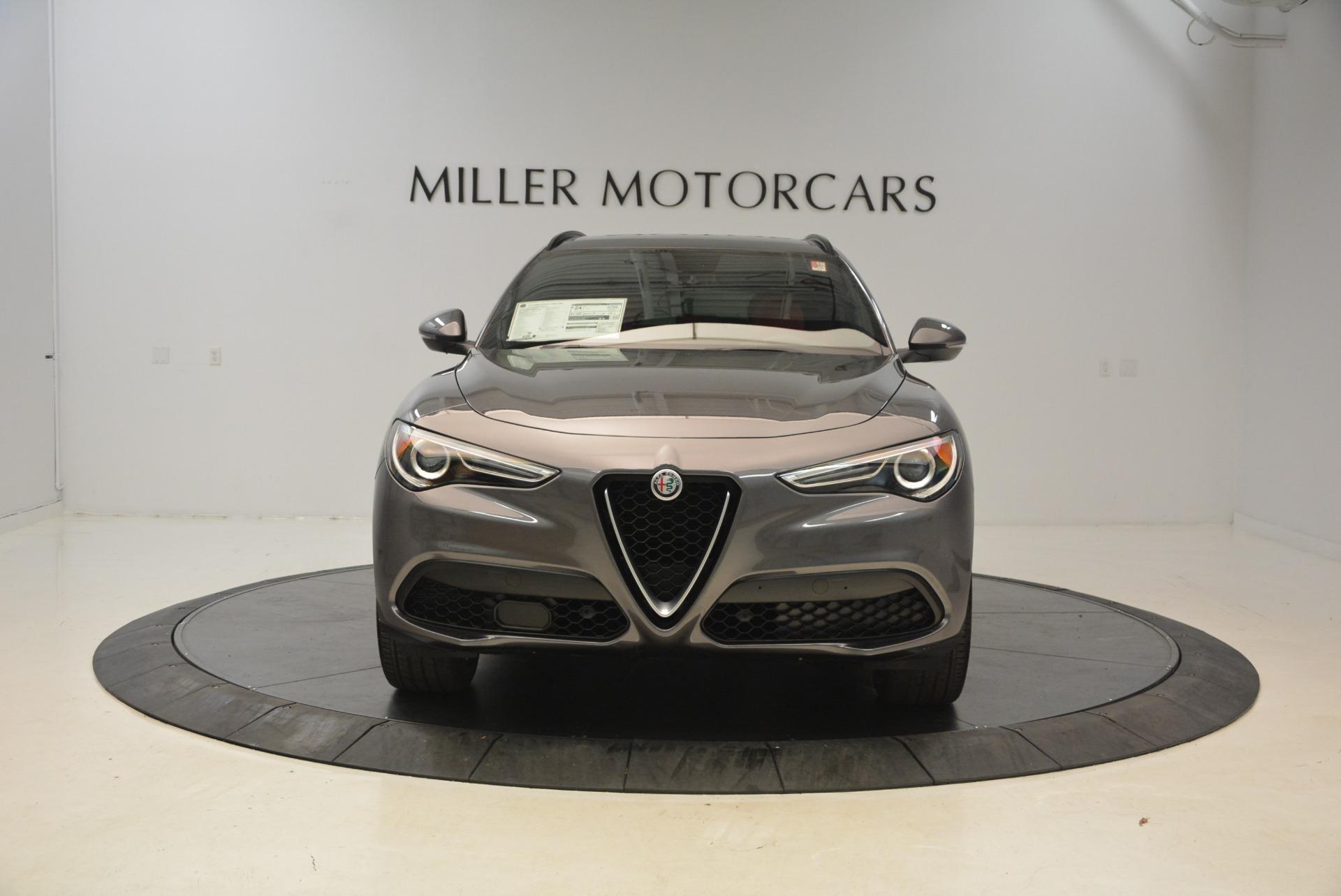 New 2018 Alfa Romeo Stelvio Ti Sport Q4 For Sale In Westport, CT 1740_p12