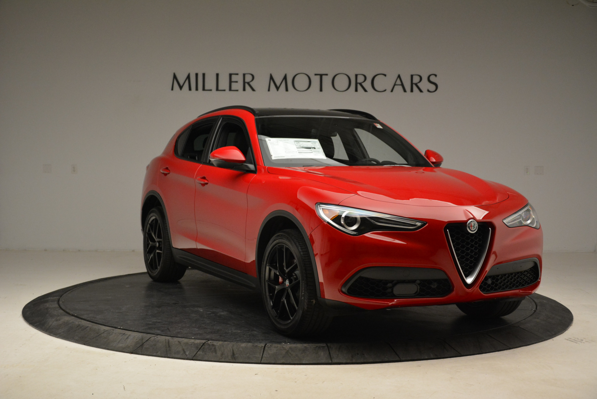 New 2018 Alfa Romeo Stelvio Ti Sport Q4 For Sale In Westport, CT 1742_p11