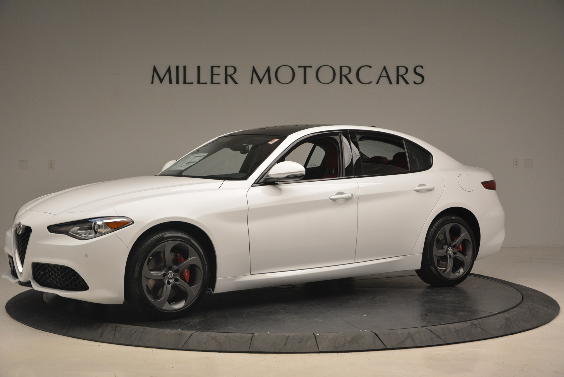 New 2018 Alfa Romeo Giulia Ti Sport Q4 For Sale In Westport, CT 1745_p2