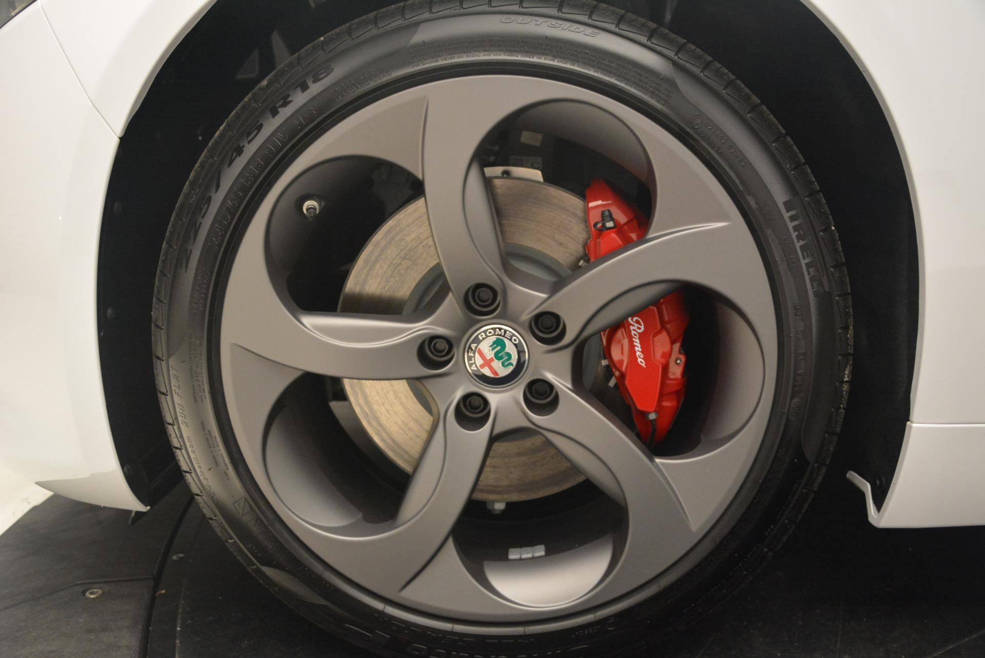 New 2018 Alfa Romeo Giulia Sport Q4 For Sale In Westport, CT 1750_p22