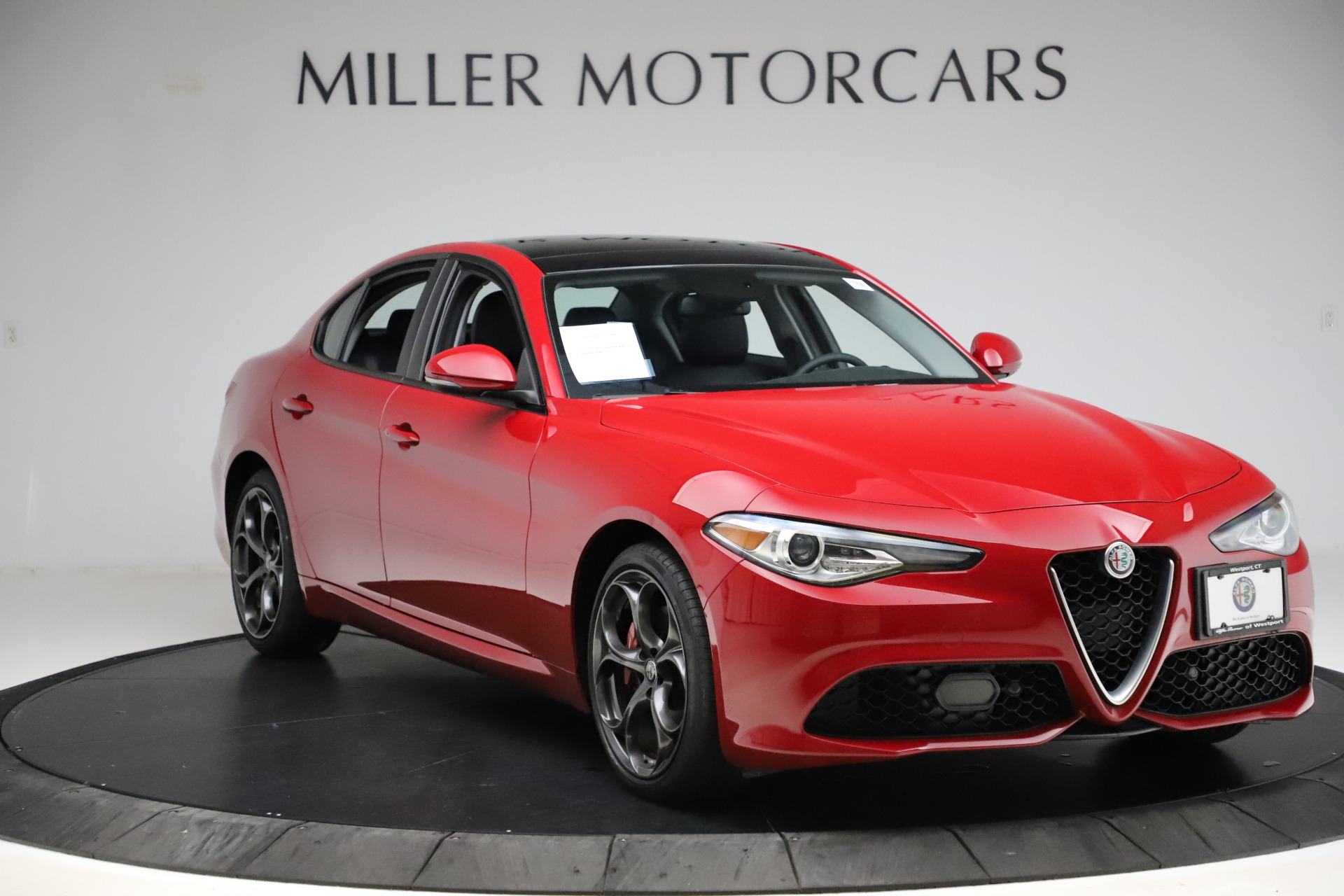 New 2018 Alfa Romeo Giulia Ti Sport Q4 For Sale In Westport, CT 1766_p11