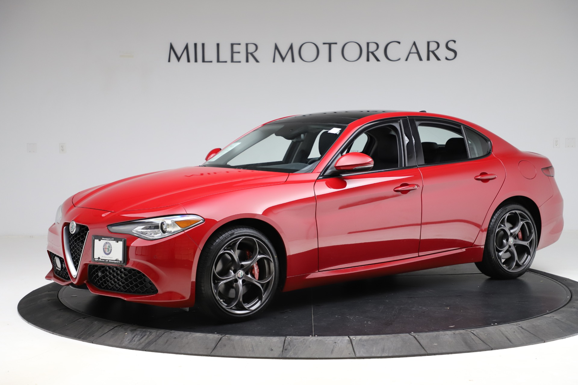 New 2018 Alfa Romeo Giulia Ti Sport Q4 For Sale In Westport, CT 1766_p2