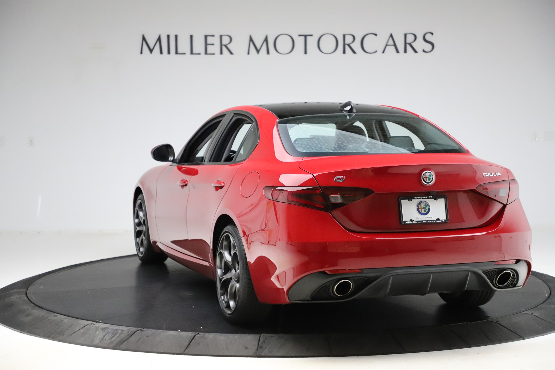 New 2018 Alfa Romeo Giulia Ti Sport Q4 For Sale In Westport, CT 1766_p5