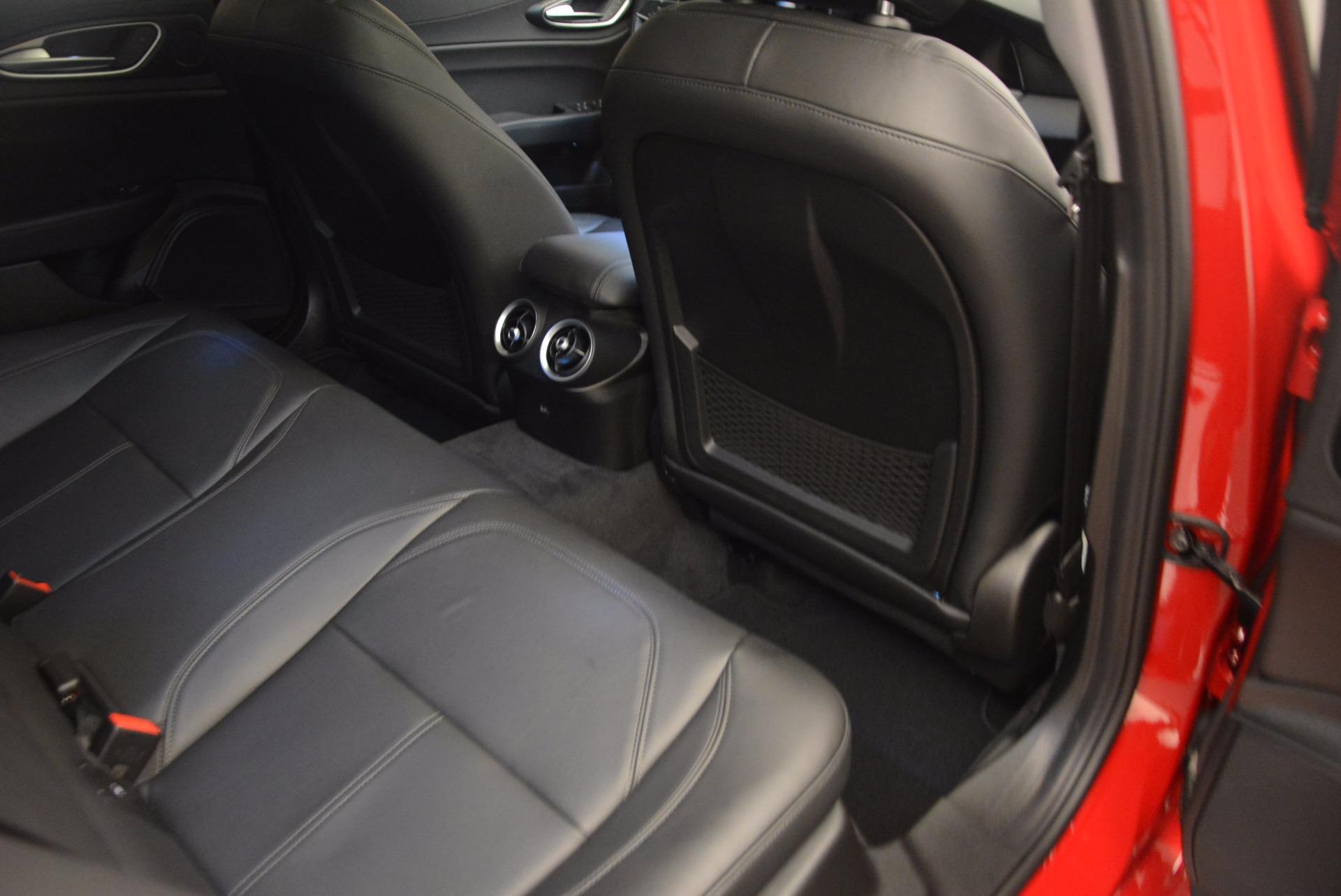 New 2018 Alfa Romeo Giulia Ti Sport Q4 For Sale In Westport, CT 1768_p23