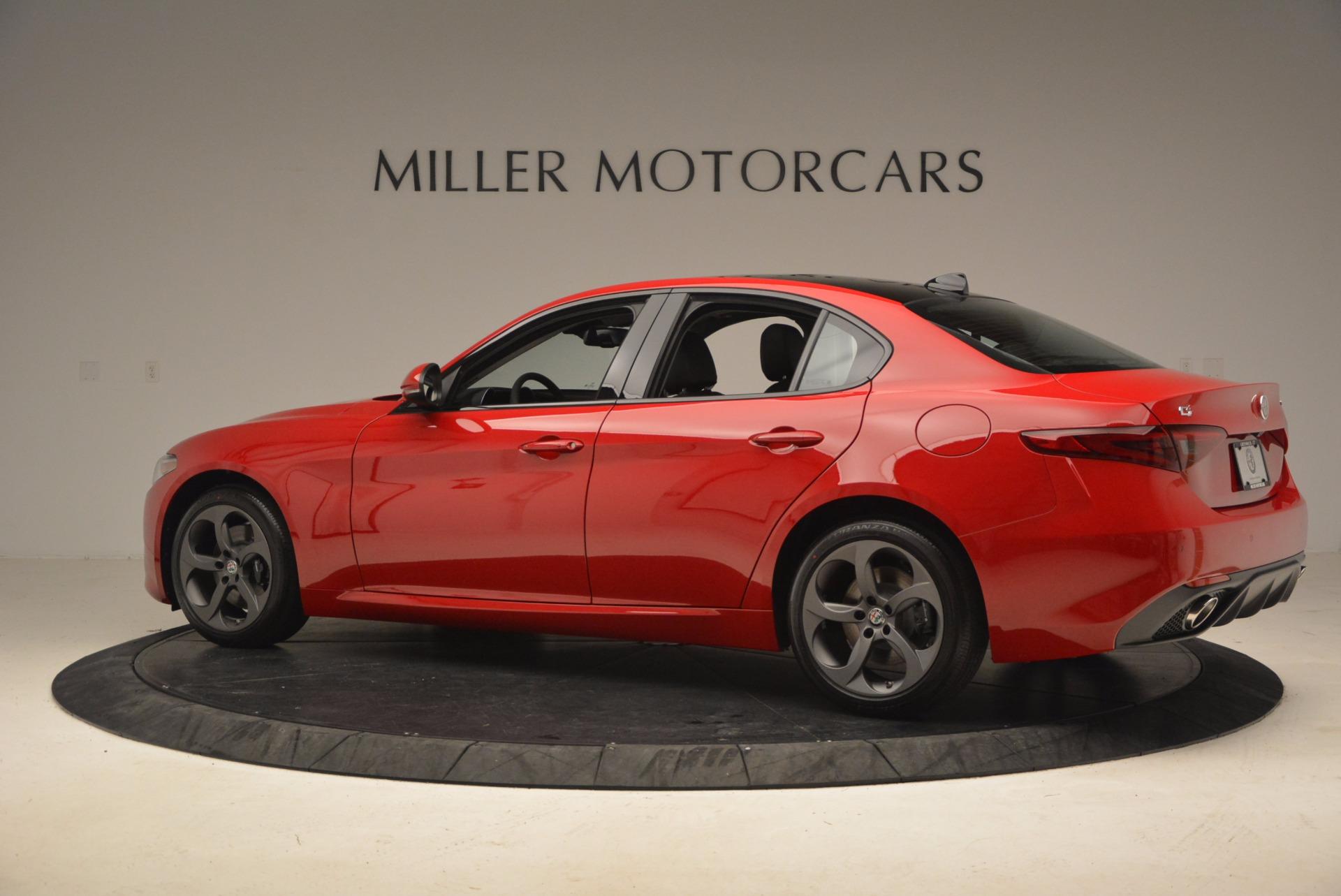 New 2018 Alfa Romeo Giulia Ti Sport Q4 For Sale In Westport, CT 1768_p4