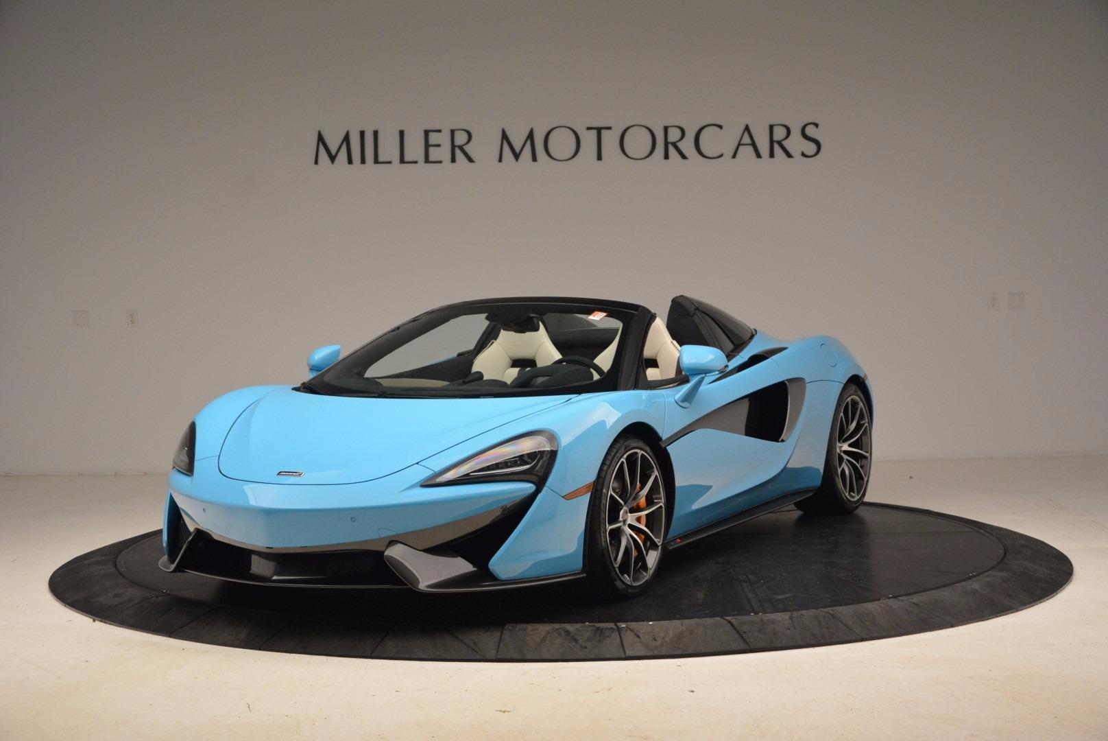 New 2018 McLaren 570S Spider For Sale In Westport, CT 1775_main