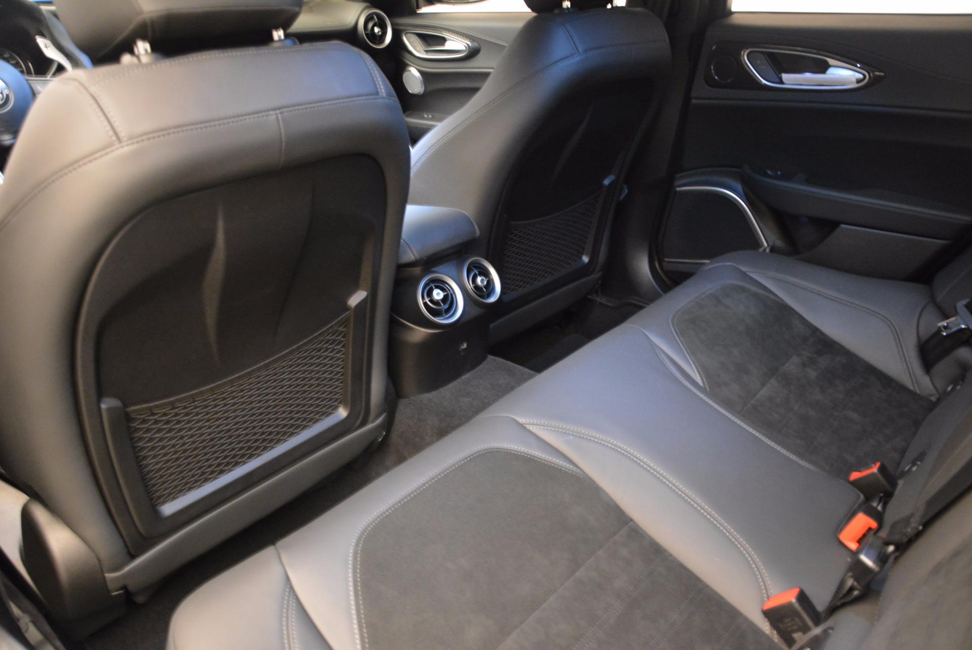 New 2018 Alfa Romeo Giulia Quadrifoglio For Sale In Westport, CT 1782_p16