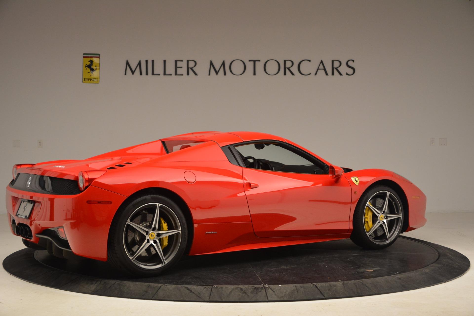 Used 2013 Ferrari 458 Spider  For Sale In Westport, CT 1784_p20