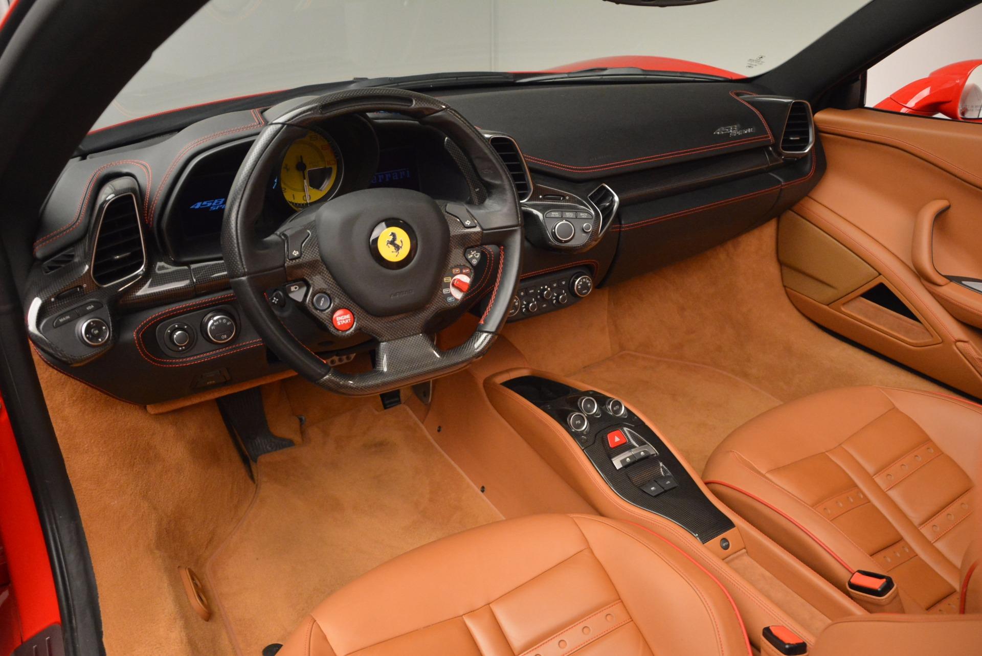 Used 2013 Ferrari 458 Spider  For Sale In Westport, CT 1784_p25