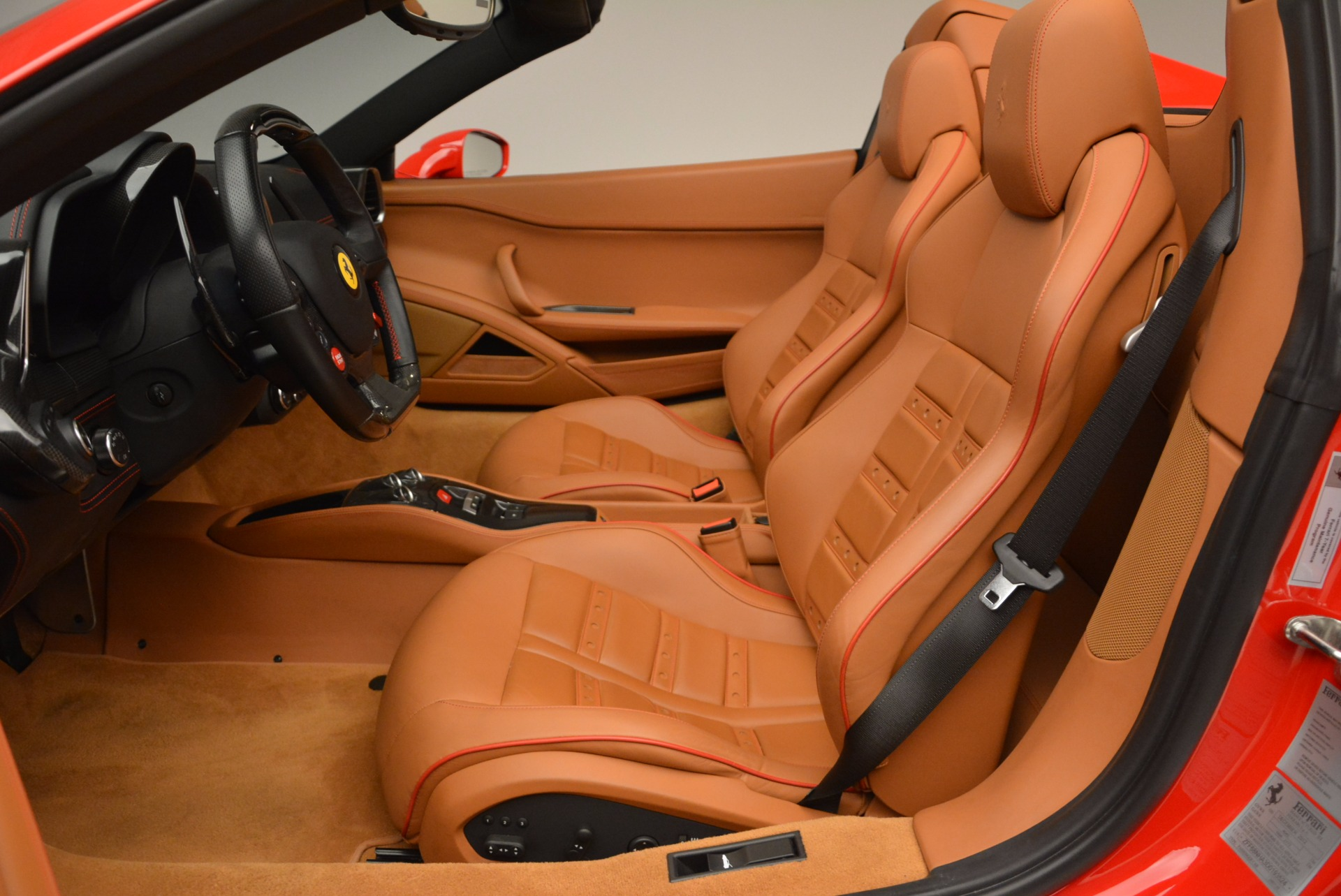 Used 2013 Ferrari 458 Spider  For Sale In Westport, CT 1784_p26