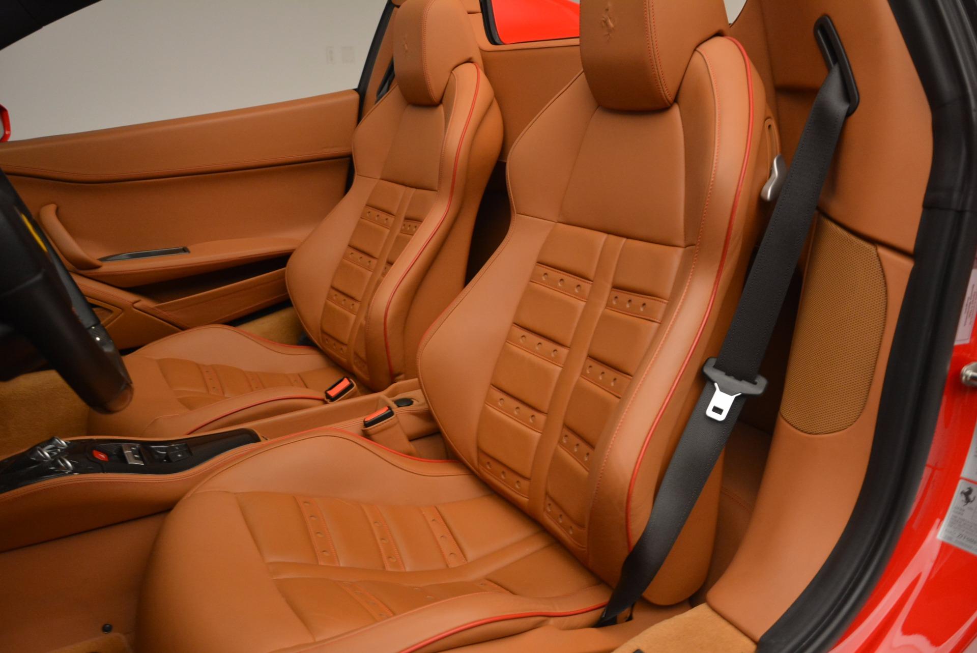 Used 2013 Ferrari 458 Spider  For Sale In Westport, CT 1784_p27