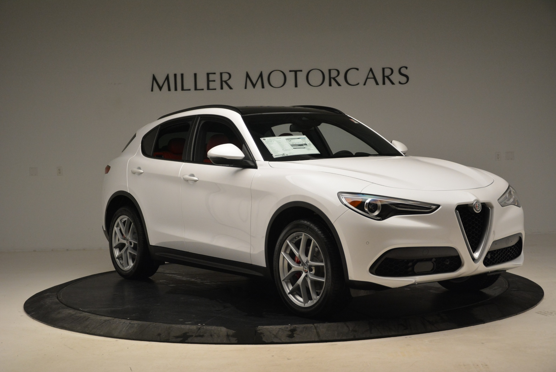 New 2018 Alfa Romeo Stelvio Ti Sport Q4 For Sale In Westport, CT 1787_p11
